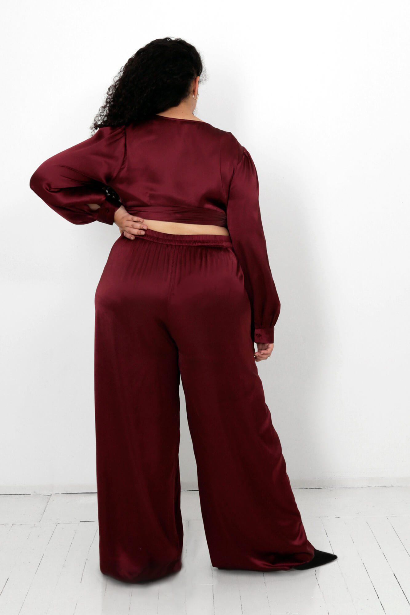 Rooibos Isa Wrap Top and Dora Pants Two Piece Set 4