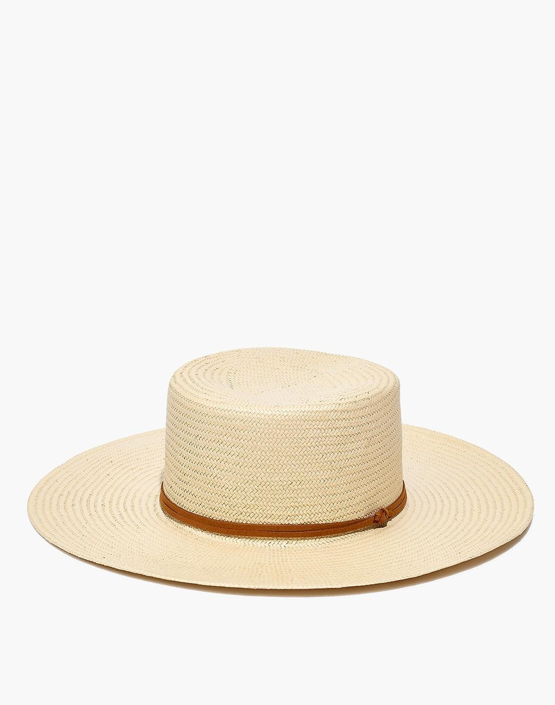 Madewell x Biltmore® Straw Wide-Brimmed Boater Hat