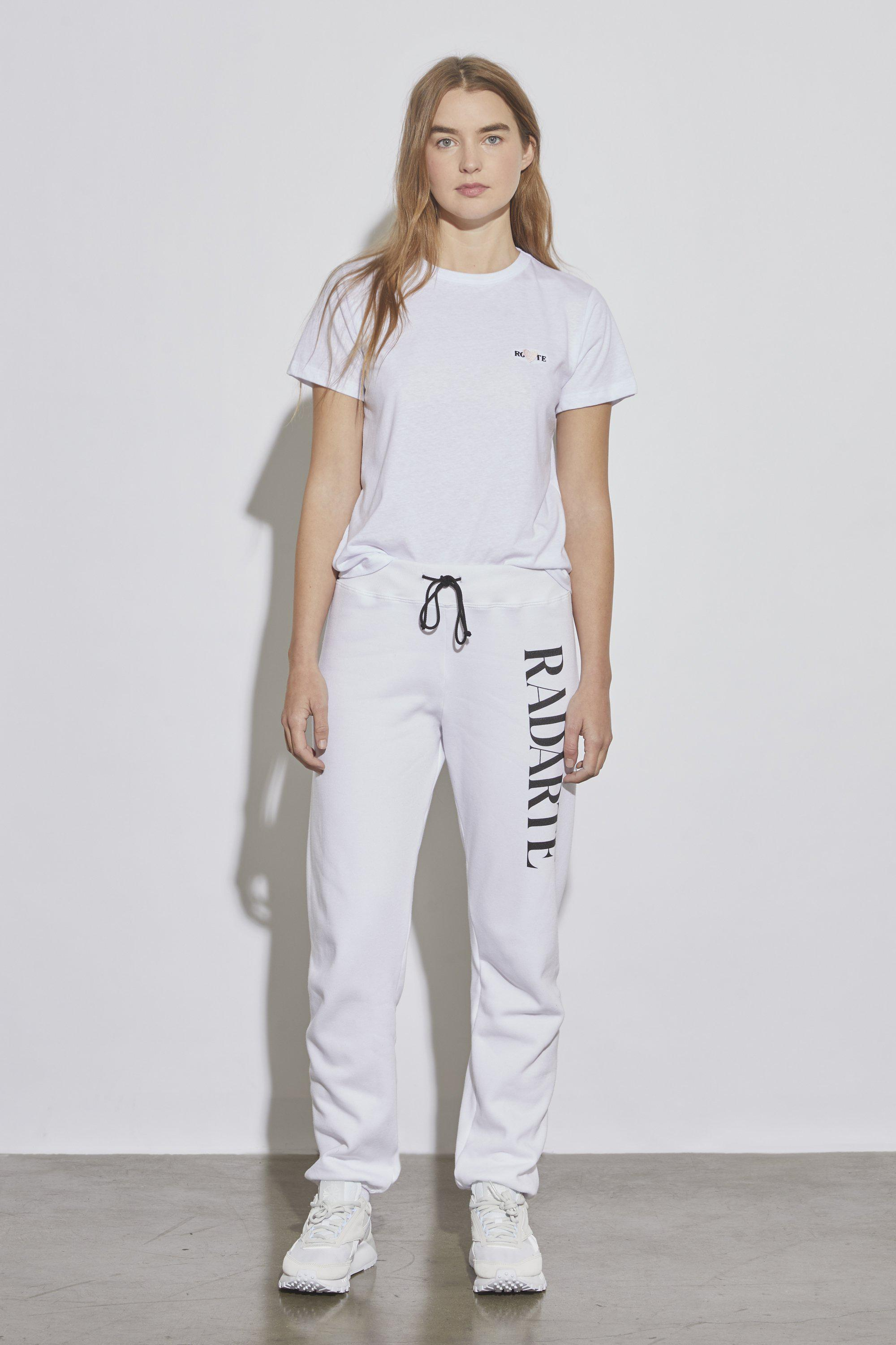 ROHEARTE EMBROIDERY T-SHIRT