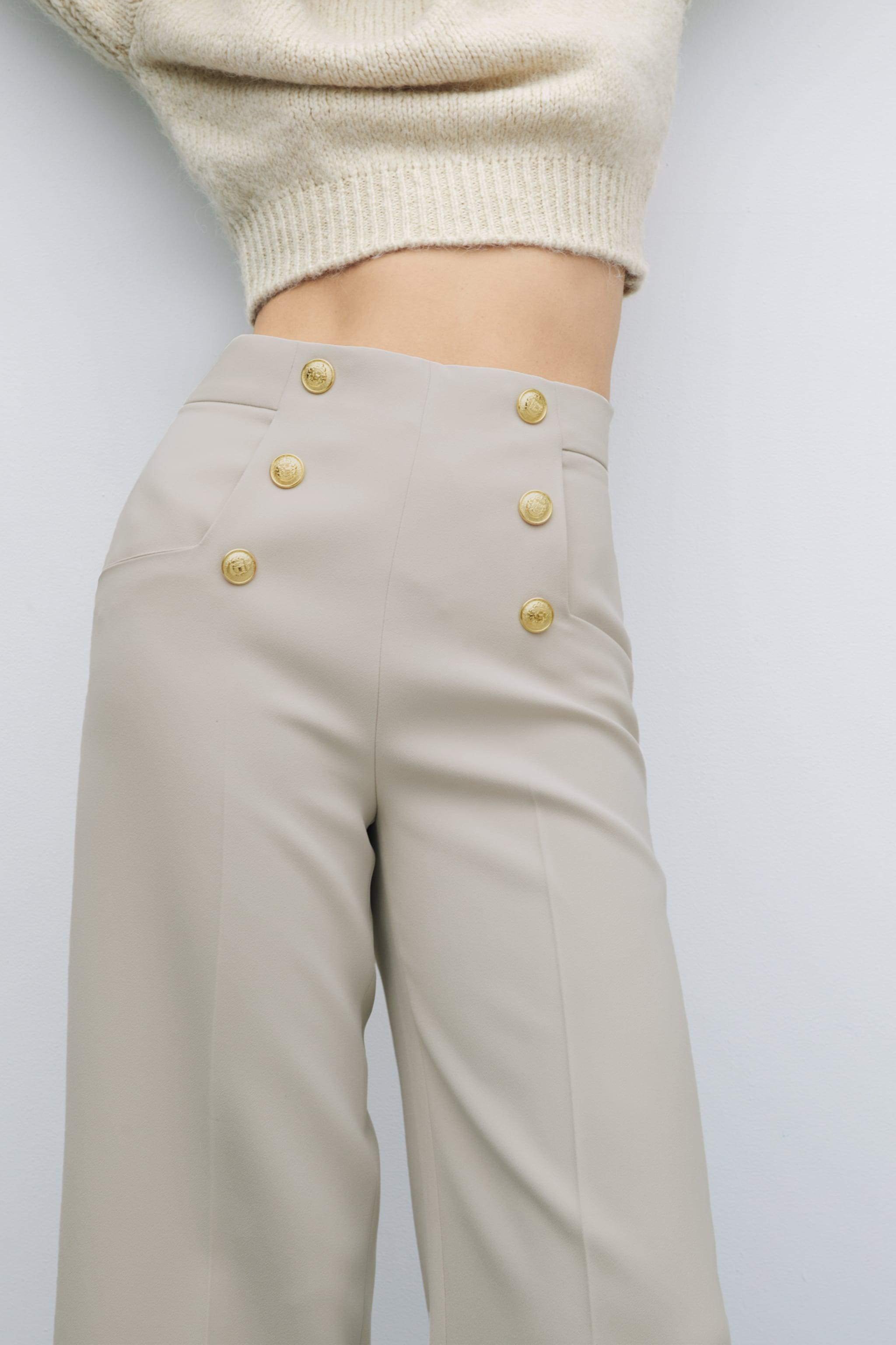 BUTTONED CULOTTES 4