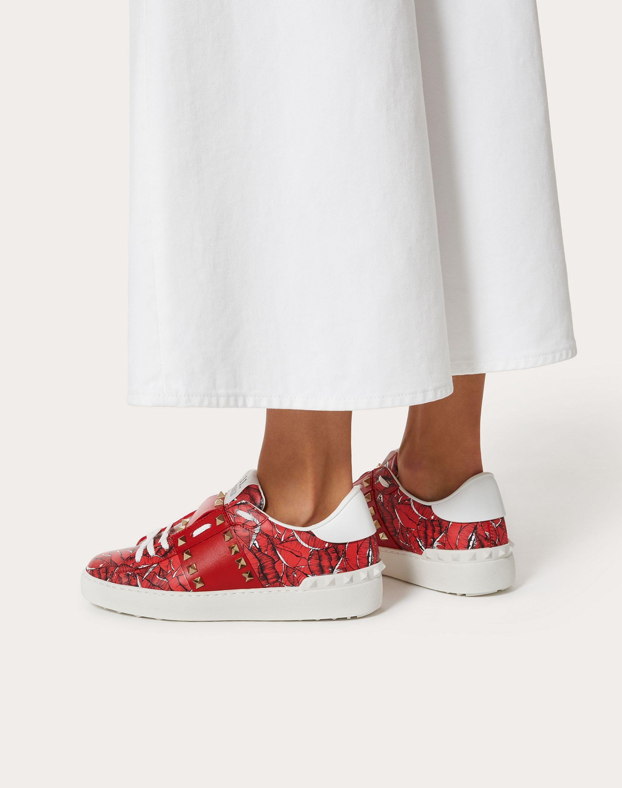 Rockstud Untitled Sneaker with print 5