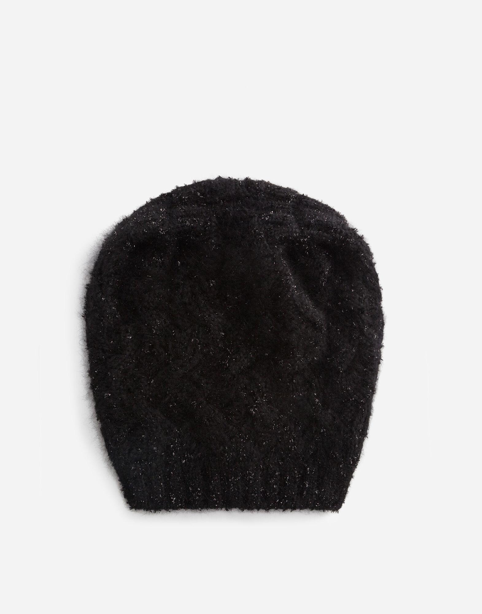 Slouchy wool and cashmere hat