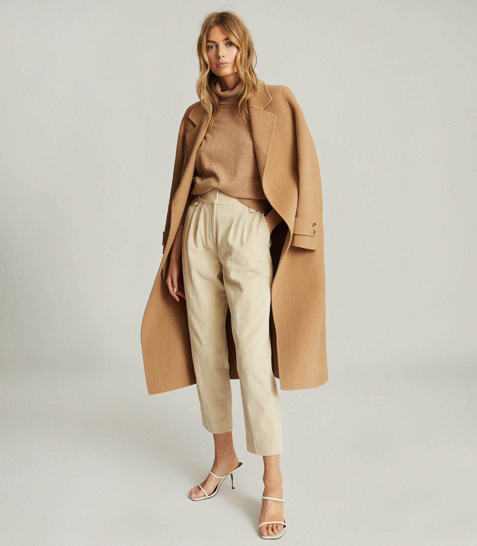 ASTER - PLEAT FRONT CORDUROY TROUSERS