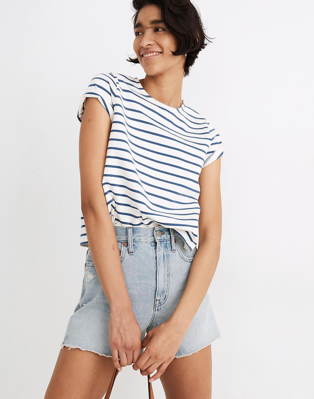 The Momjean Short in Byers Wash: Ripped Edition