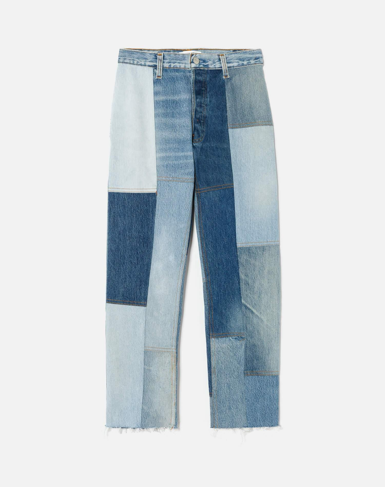 70s Patch Jean
