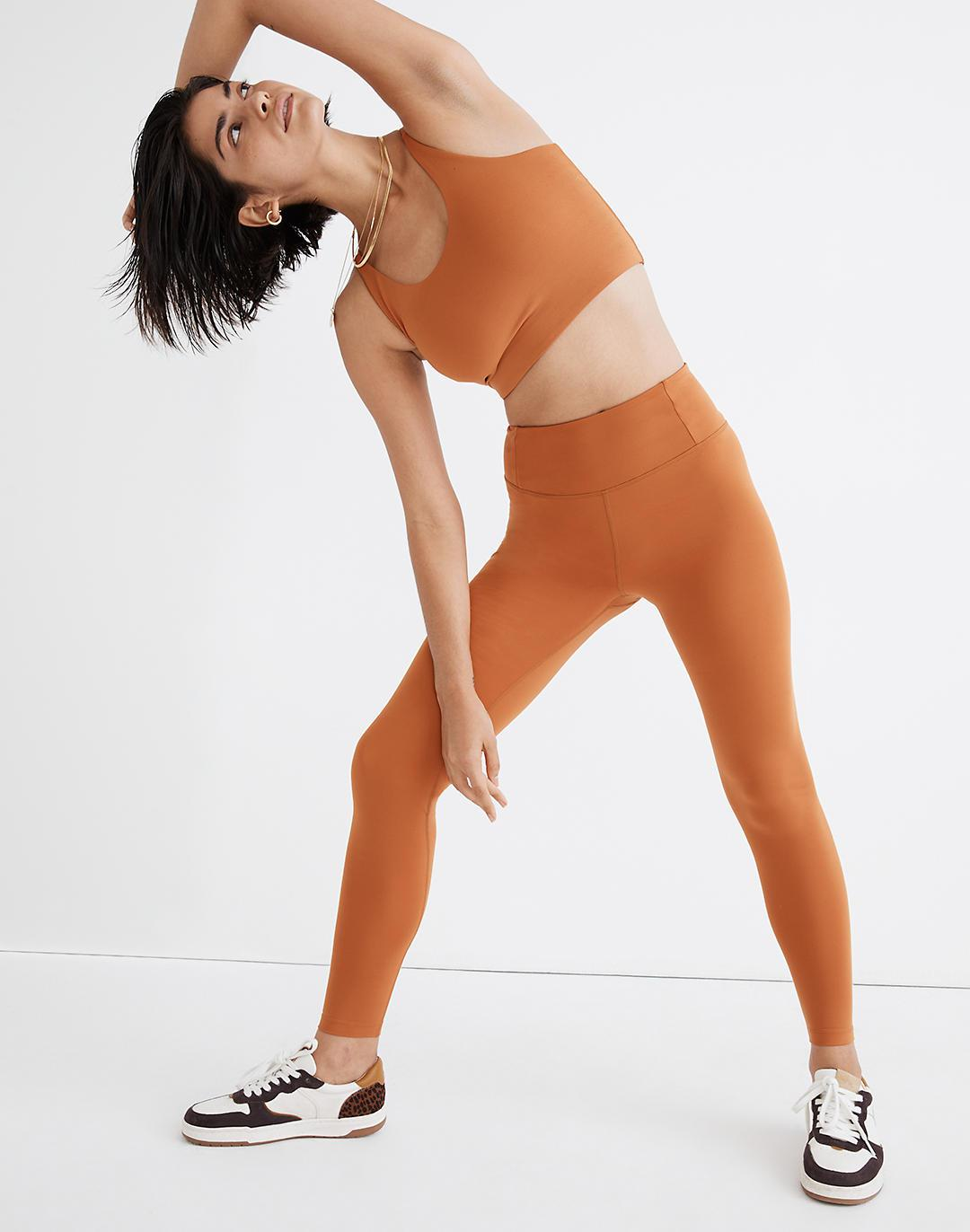 """Girlfriend Collective® Seamless High-Rise 28 1/2"""" Leggings in Spice"""