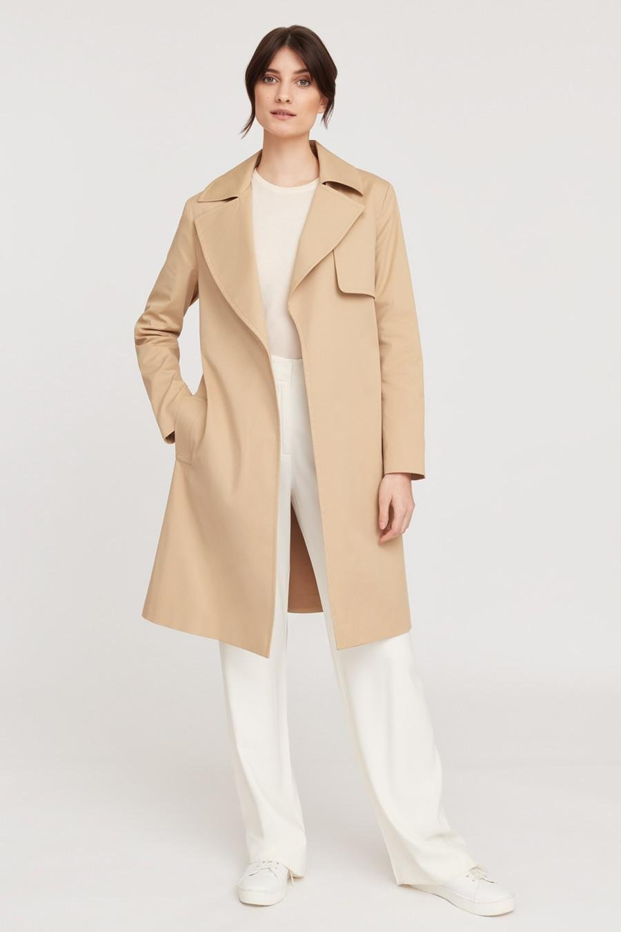 Women's Classic Trench in Wheat | Size: 2
