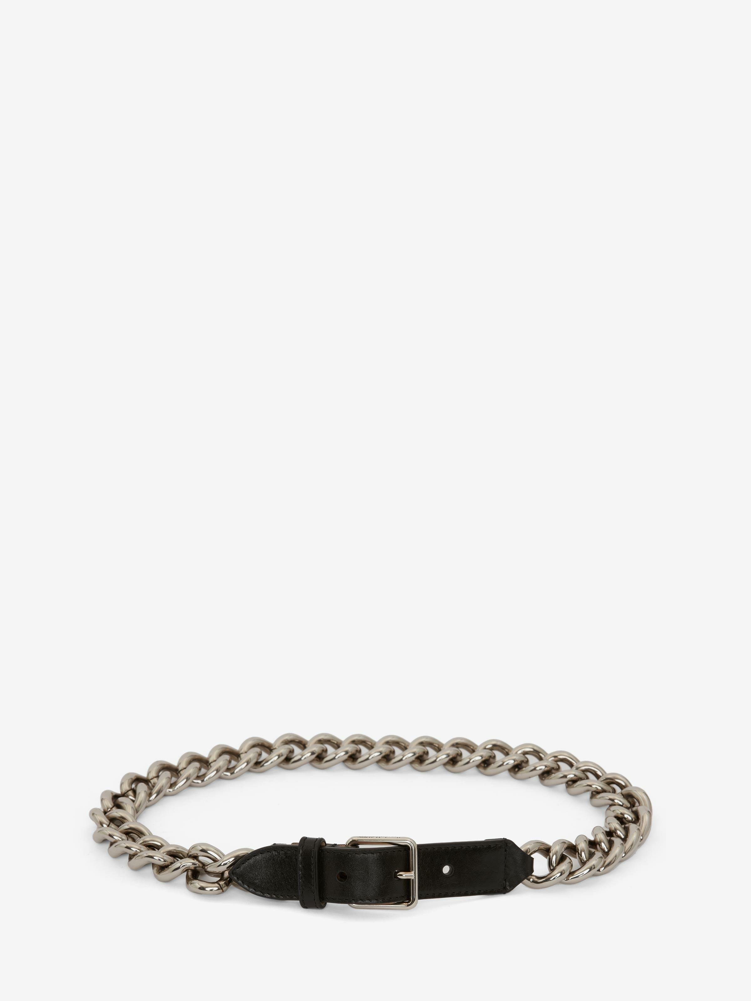 Single Belt with Chain