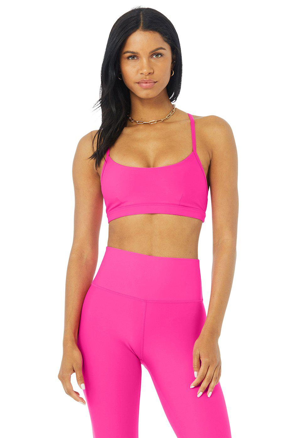 Airlift Intrigue Bra - Neon Pink