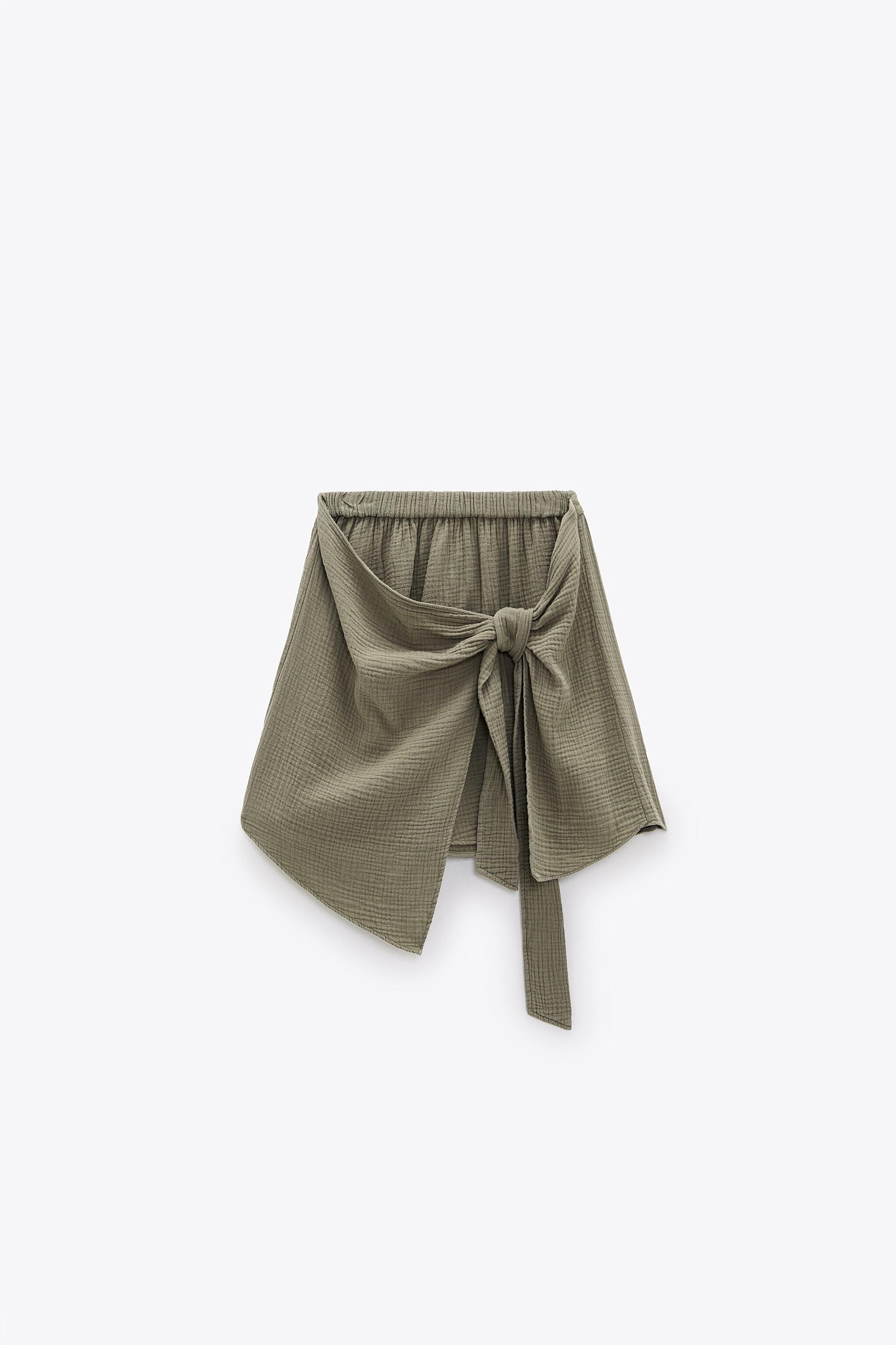 SOFT KNOTTED SKIRT 4