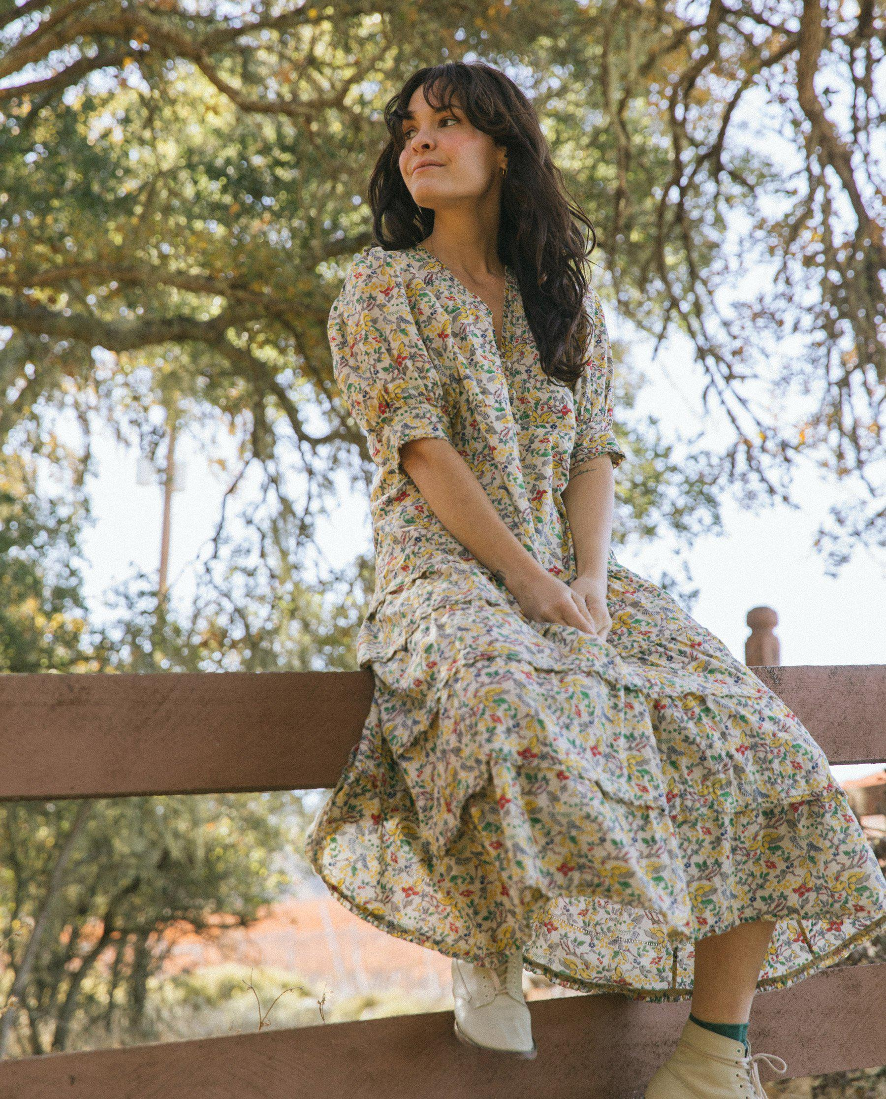 The Yonder Dress. -- Boxwood Floral