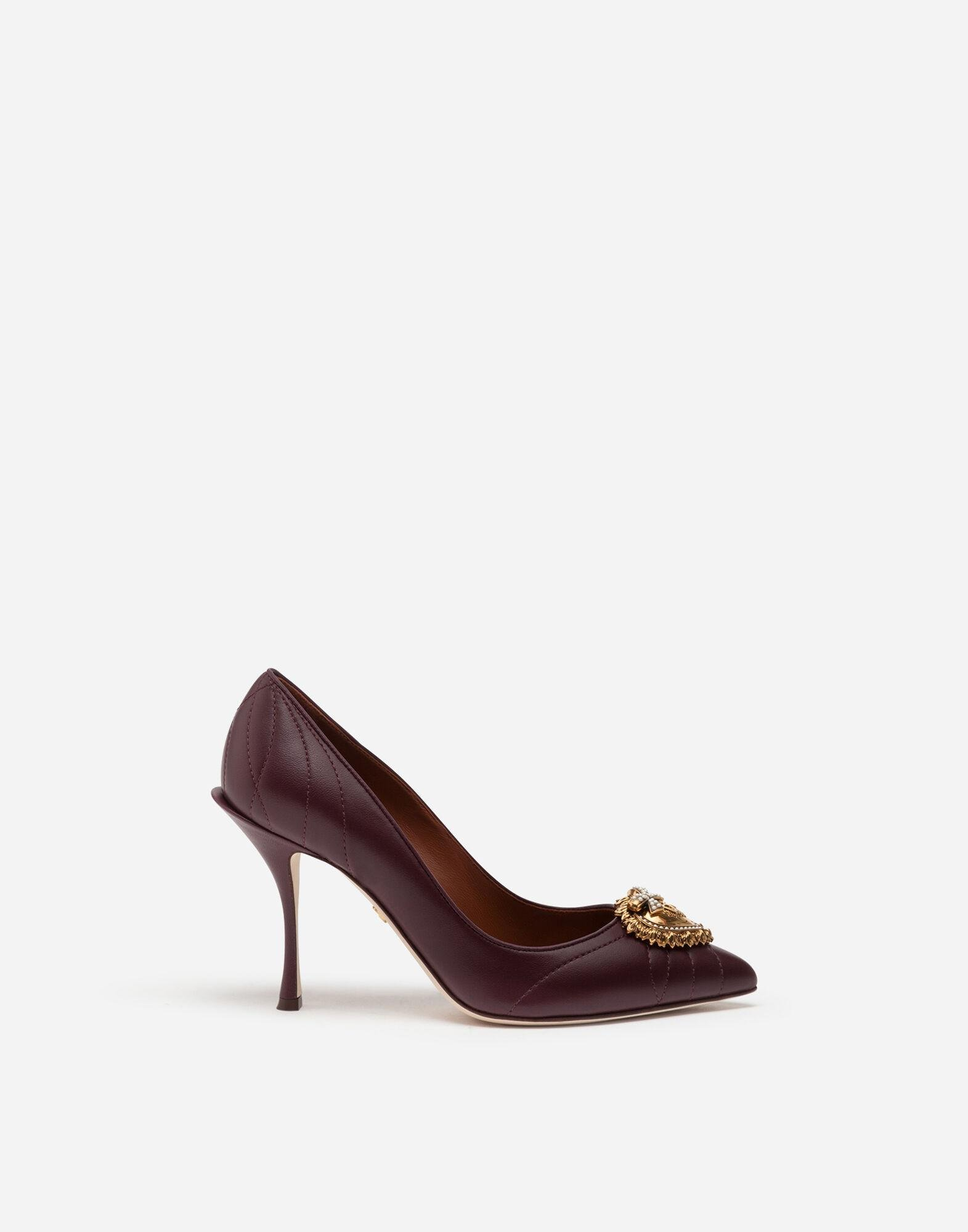 Quilted nappa leather Devotion pumps