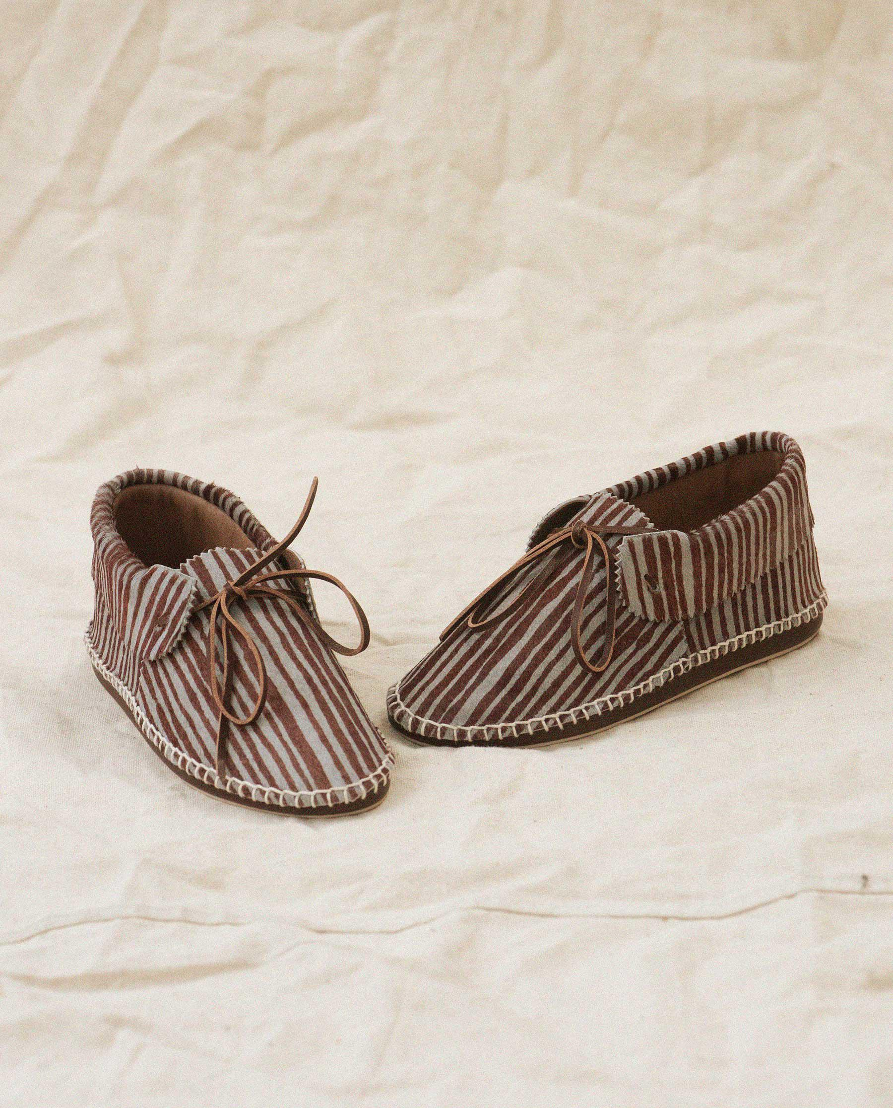 Exclusive The Canyon Moccasin. -- Dusk Stripe 1
