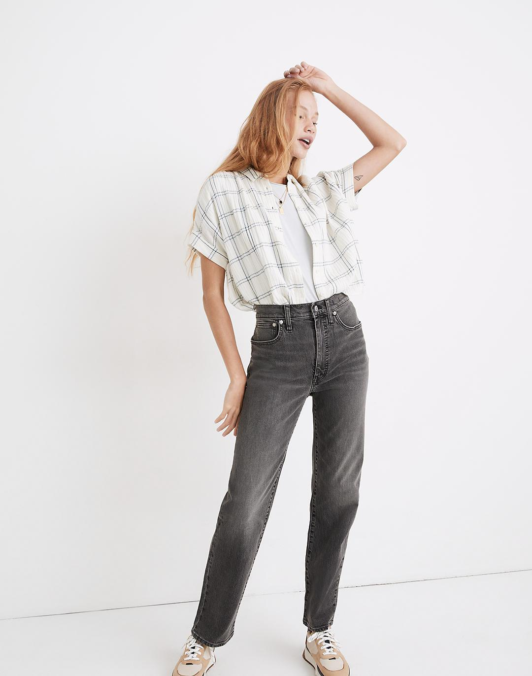 The Perfect Vintage Straight Jean in Cosner Wash