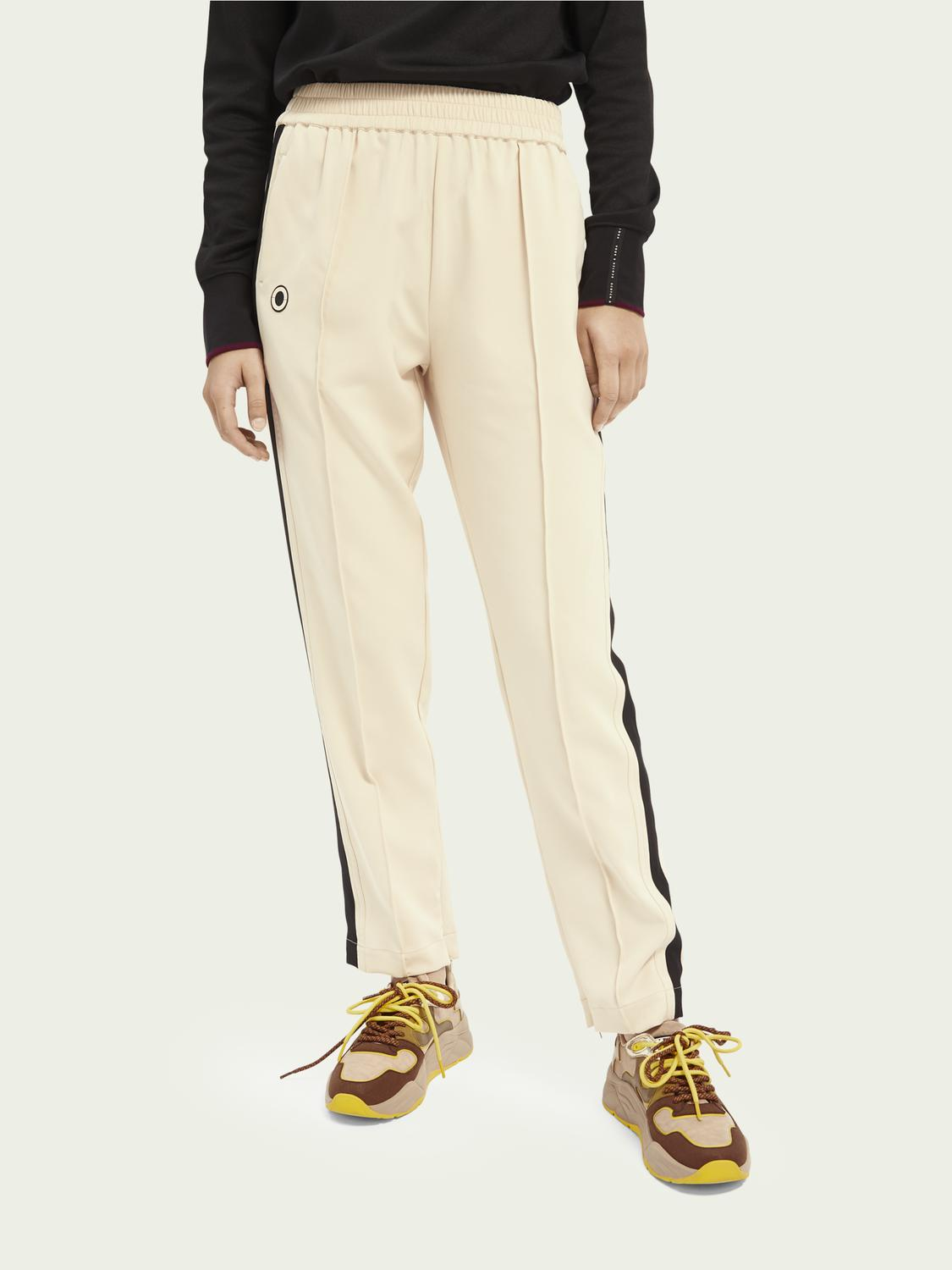 Woven sporty trousers