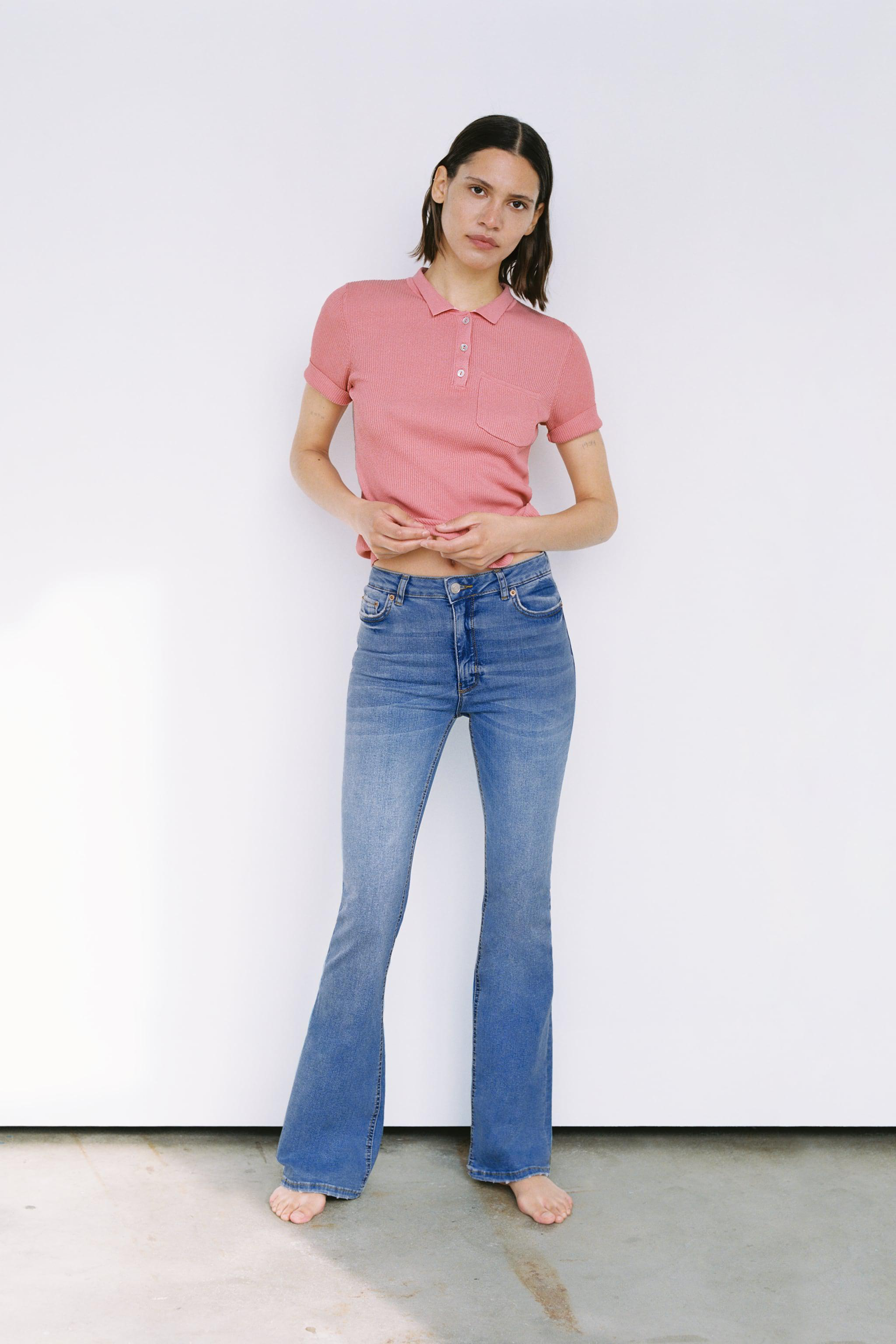 ZW THE SKINNY FLARE JEANS