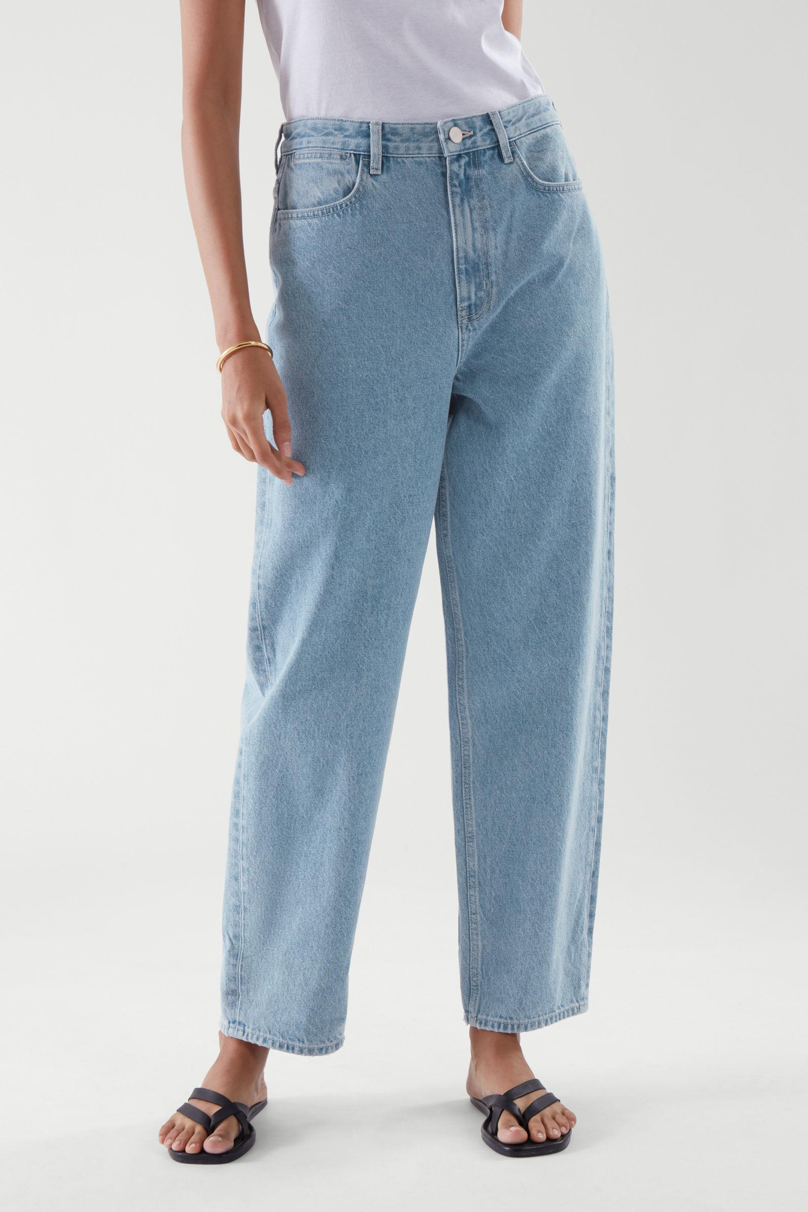 TAPERED HIGH-RISE JEANS 1