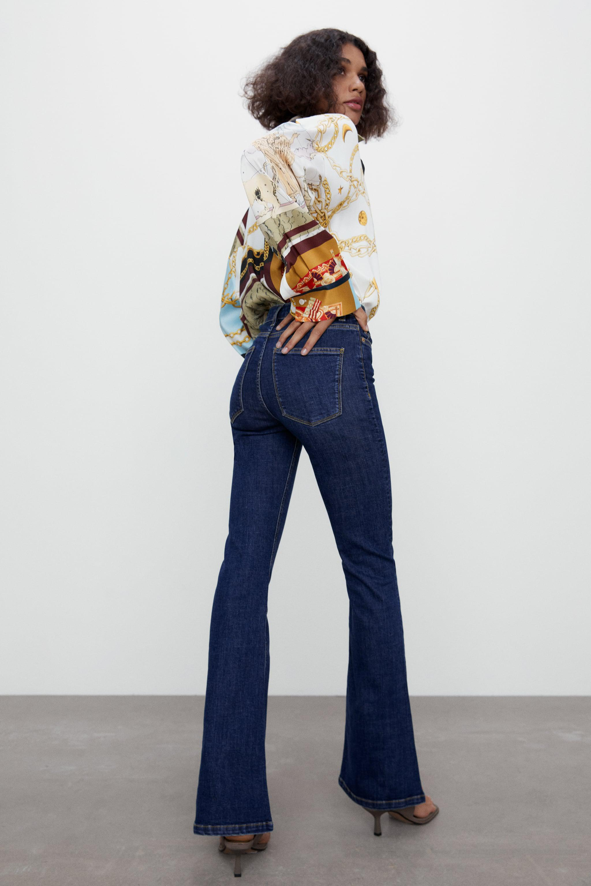 ZW THE SKINNY FLARE JEANS 2