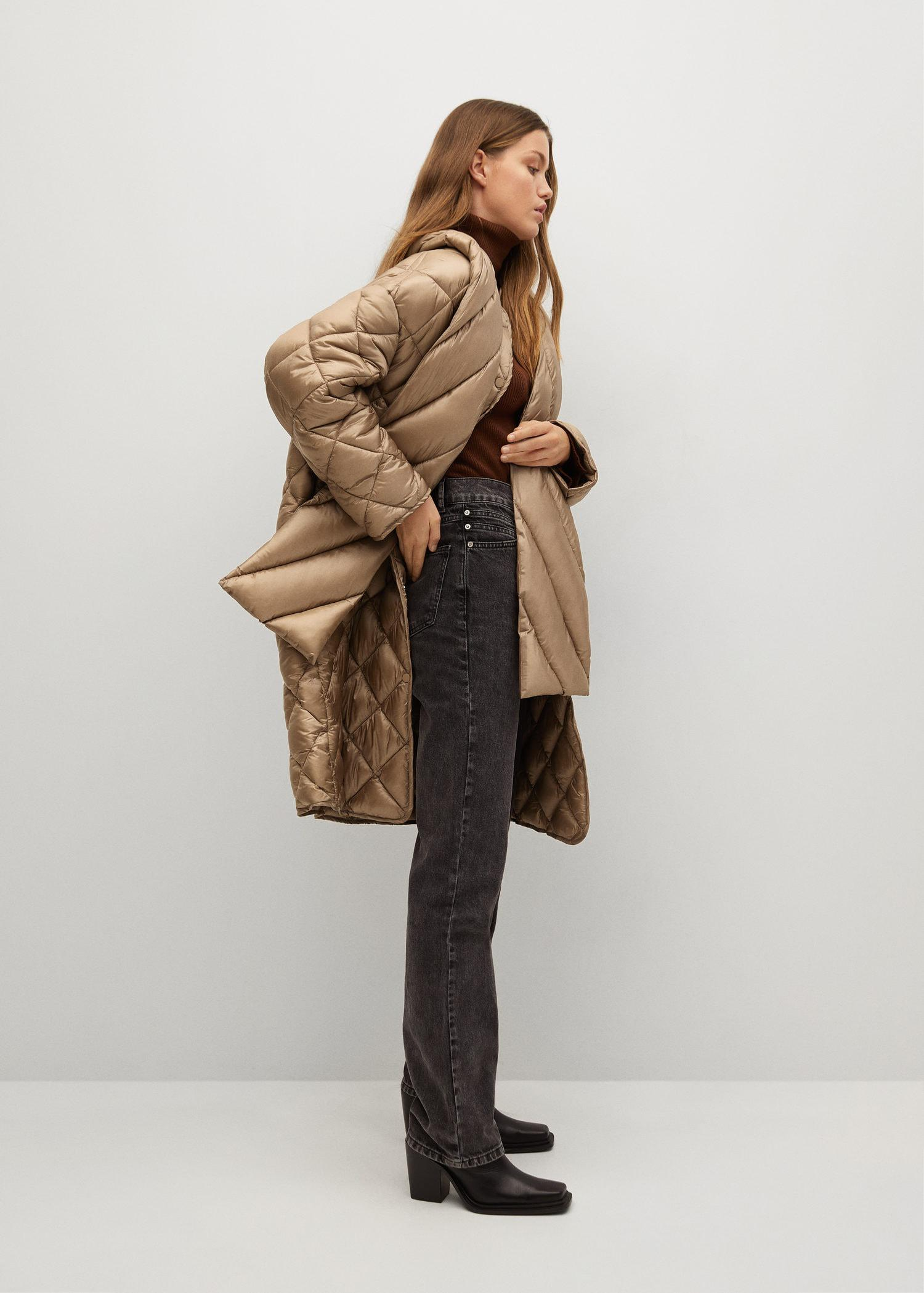 Oversize quilted coat 4