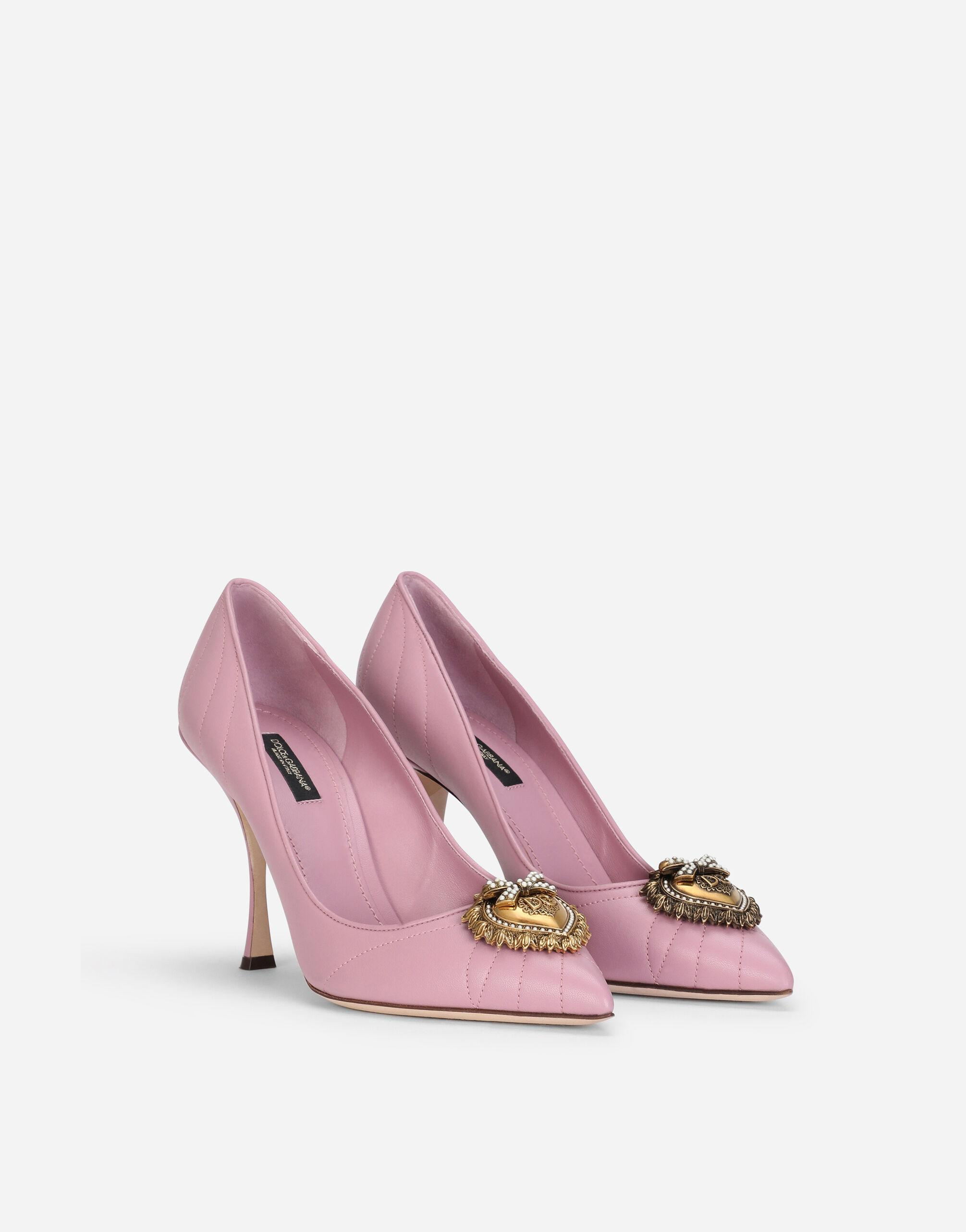 Quilted nappa leather Devotion pumps 1