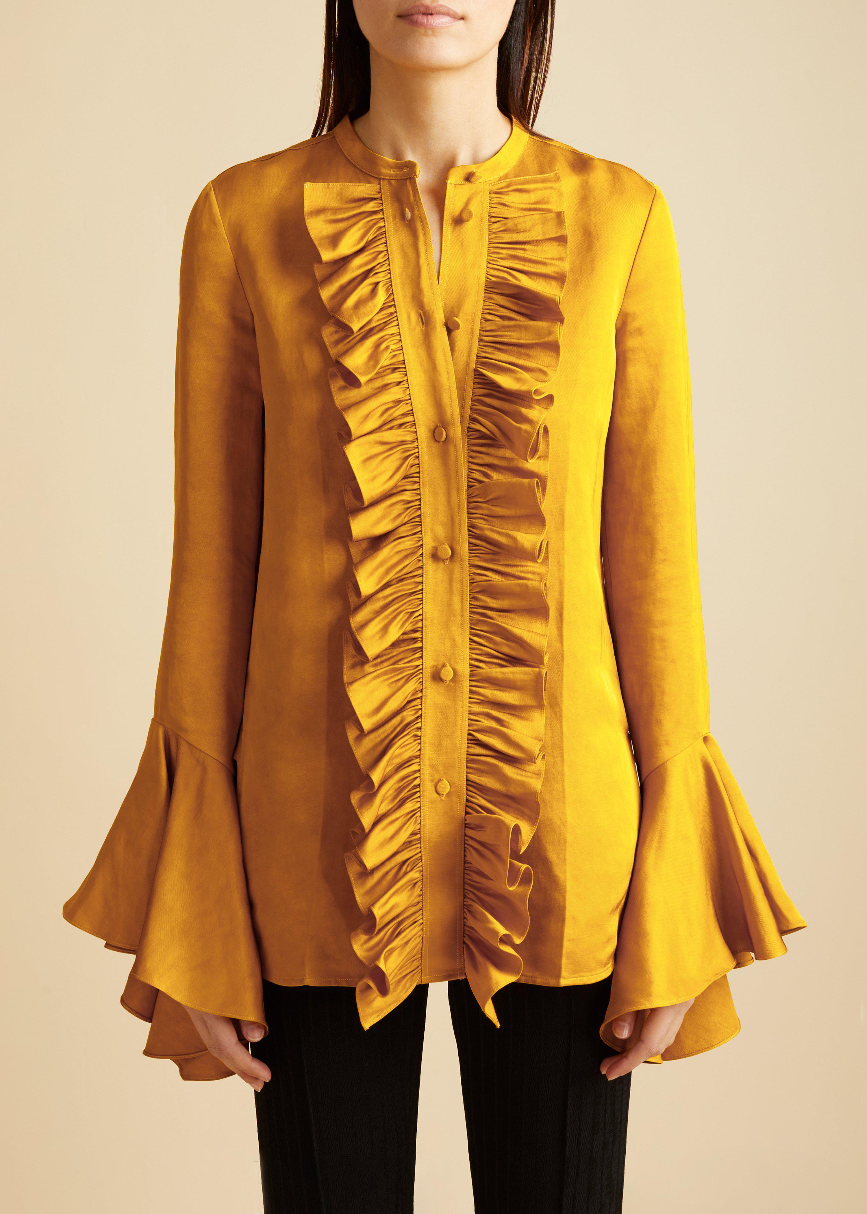 The Keith Top in Marigold 0