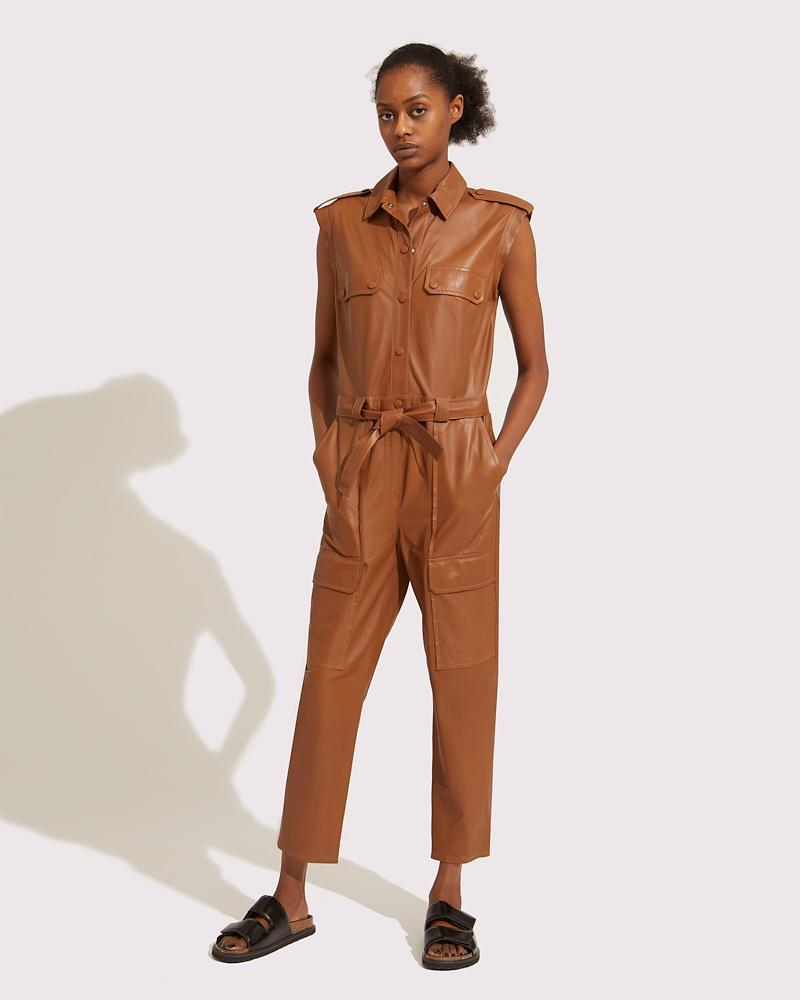 Belted multipockets overall
