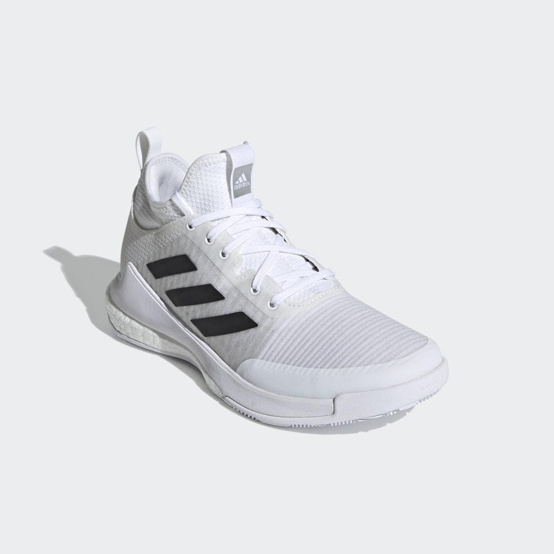 CrazyFlight Mid Volleyball Shoes White