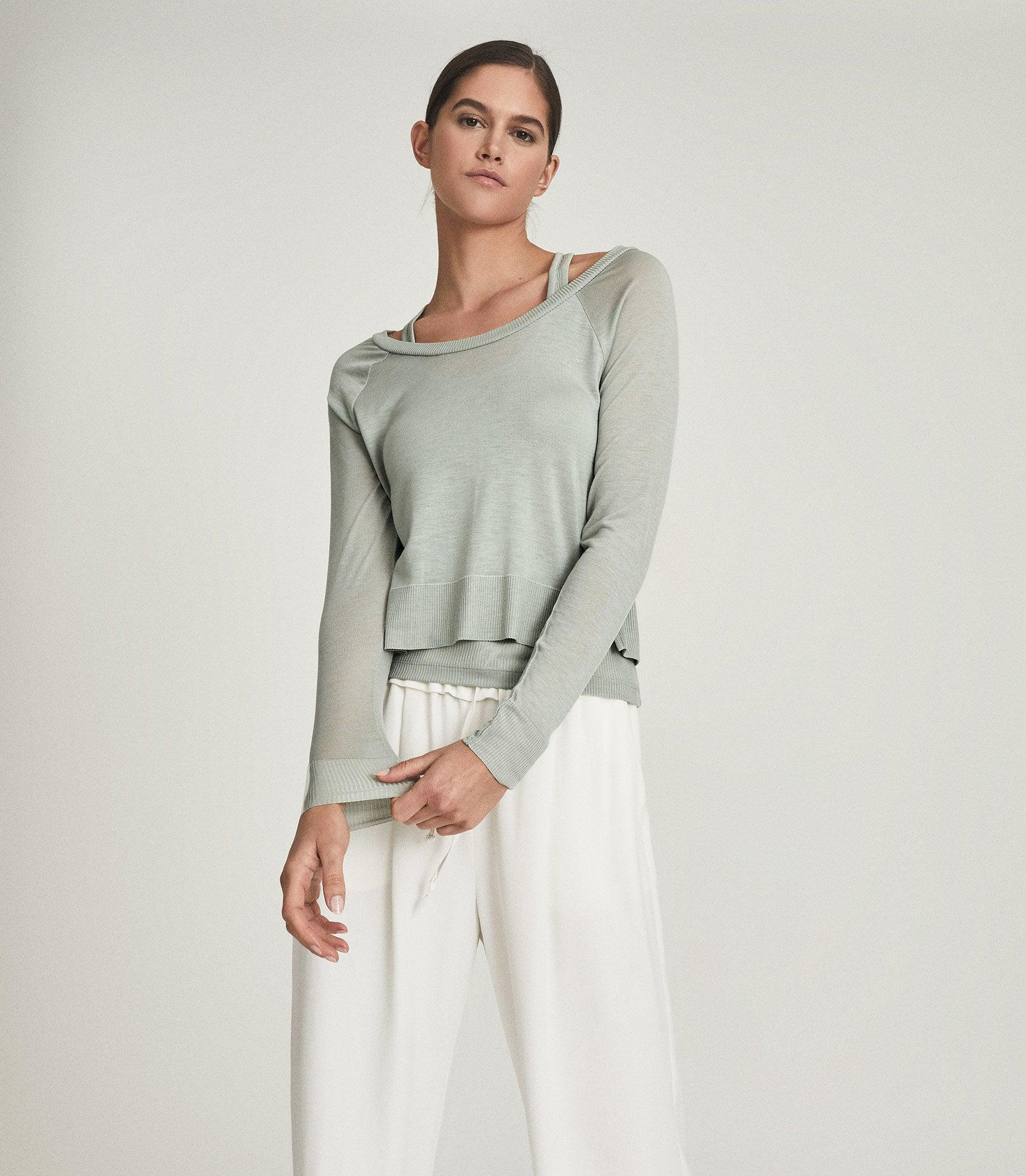 ADA - FINE JERSEY DOUBLE LAYER TOP