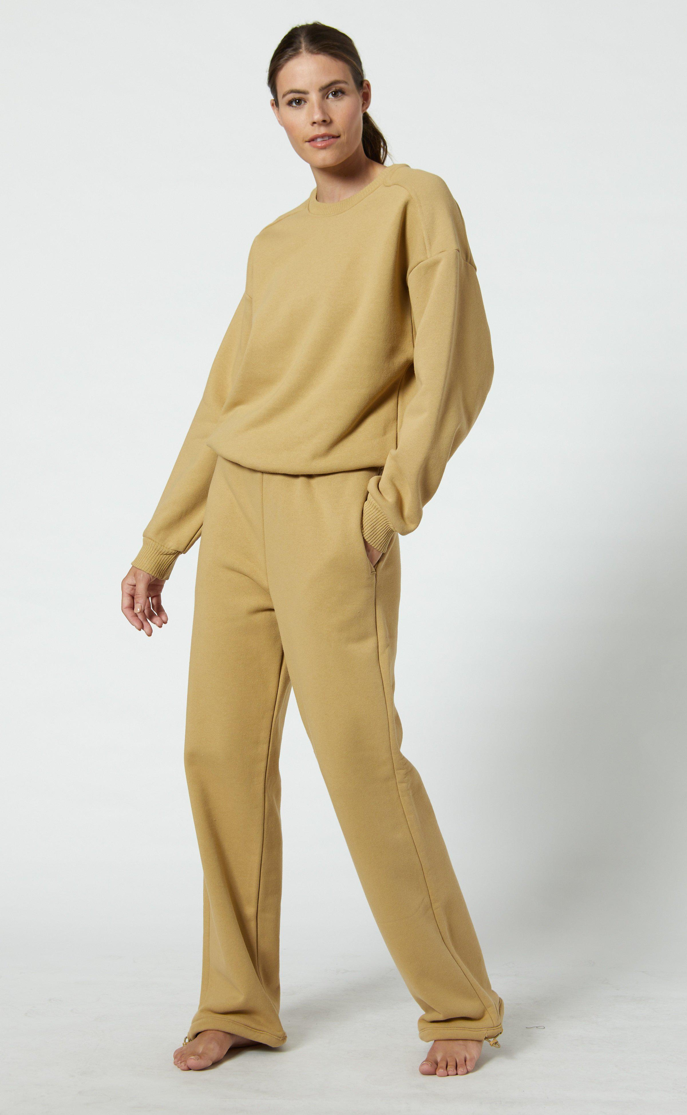 French Terry High Waisted Sweatpants 4