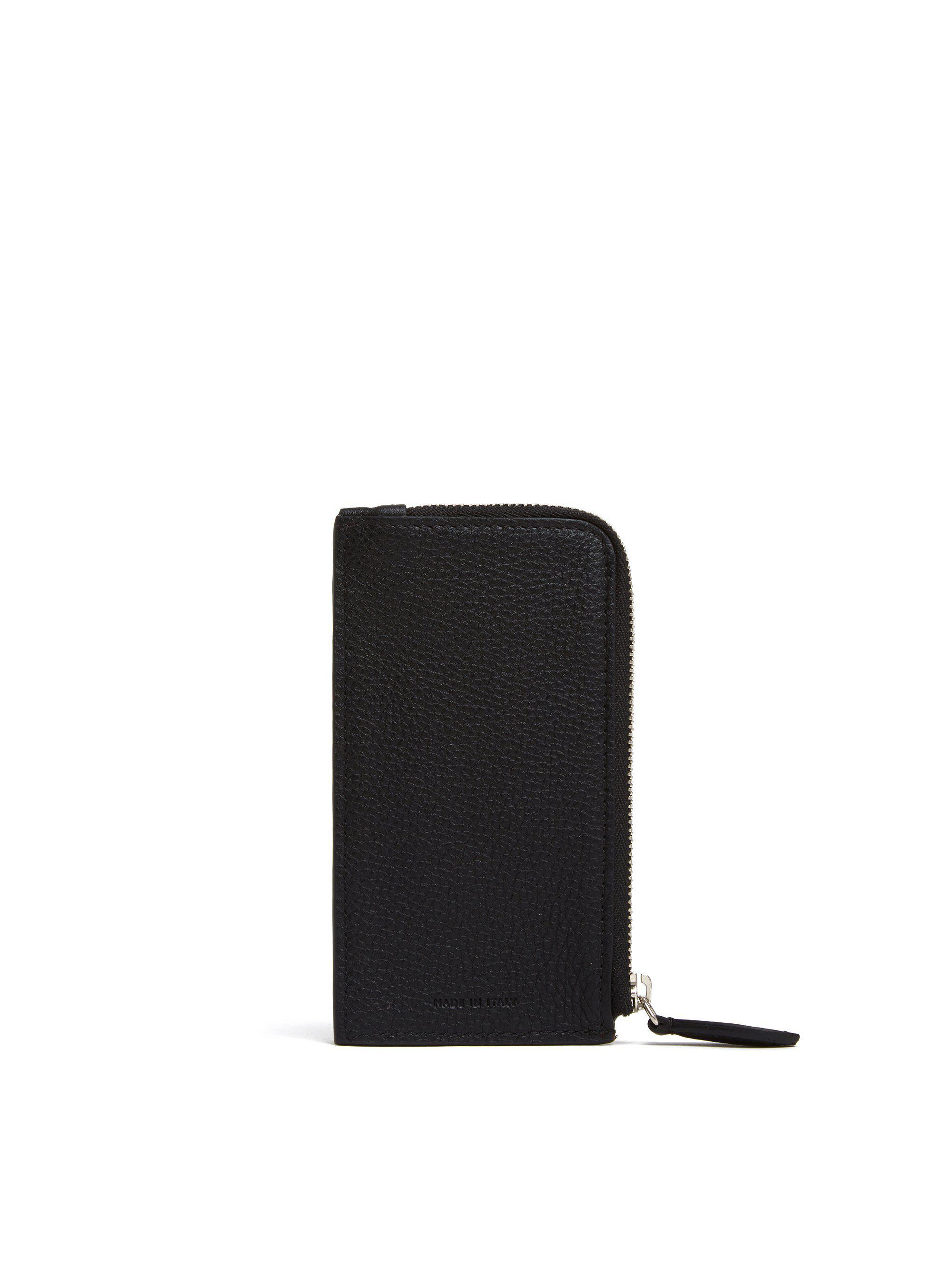 Leather Zip Card Case 1