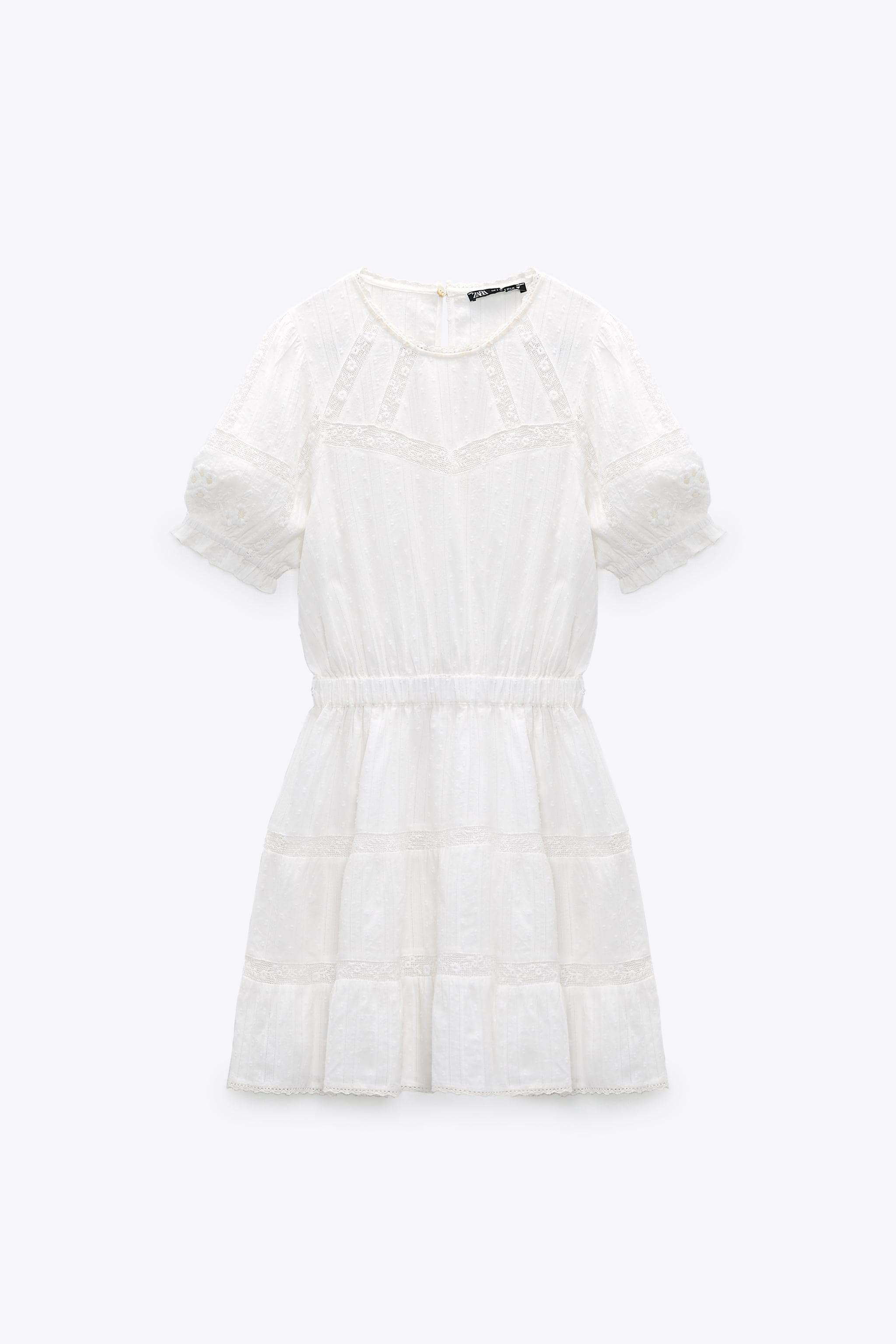 SWISS DOT DRESS WITH EMBROIDERY 6