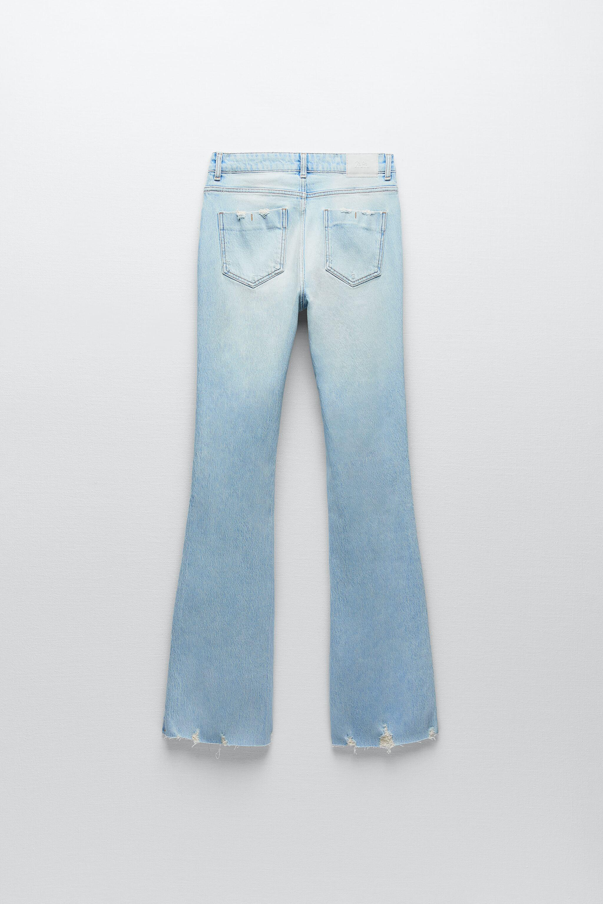Z1975 RIPPED FLARE JEANS 7