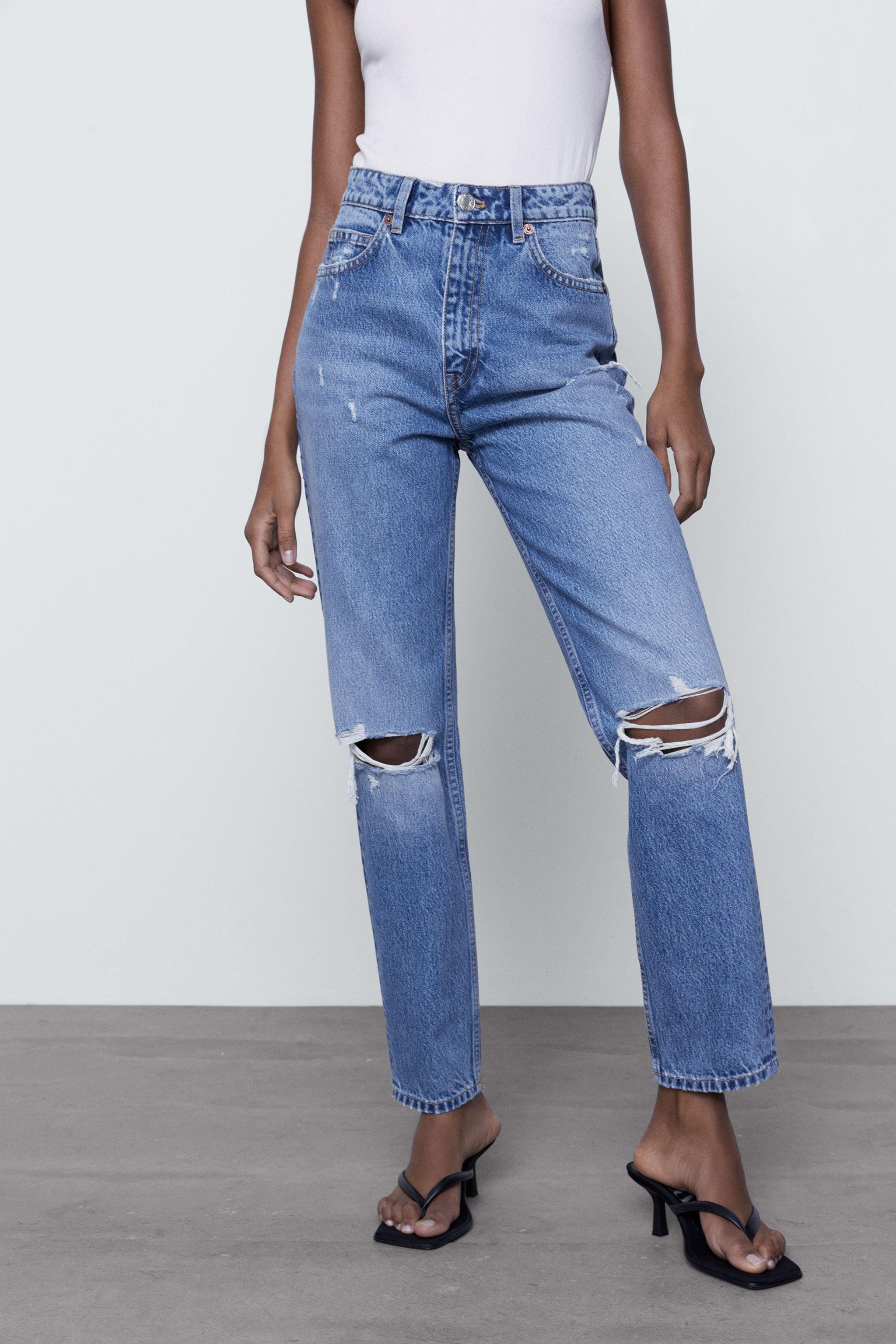 RIPPED MOM FIT JEANS 2