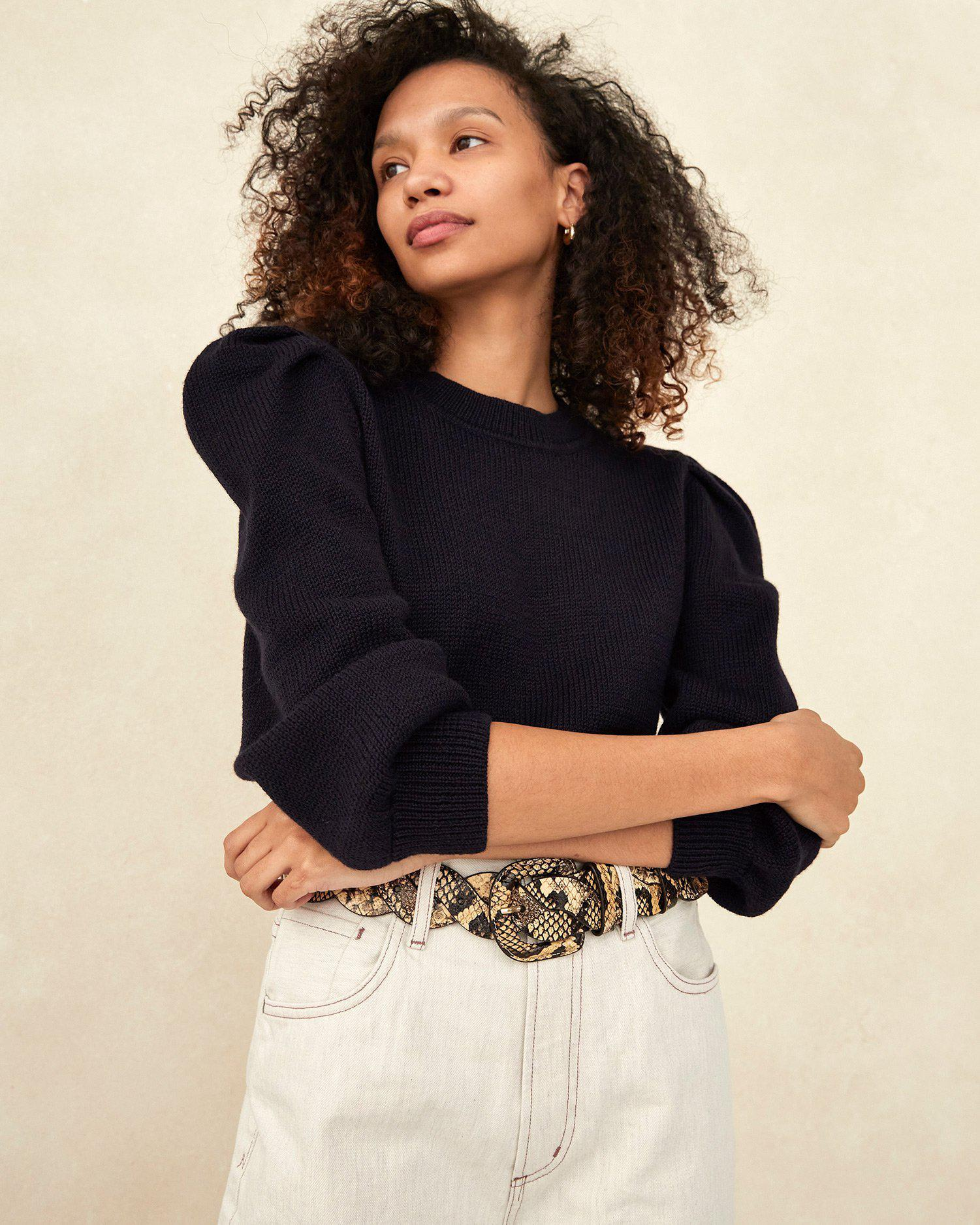 Knits for Good Navy Sweater