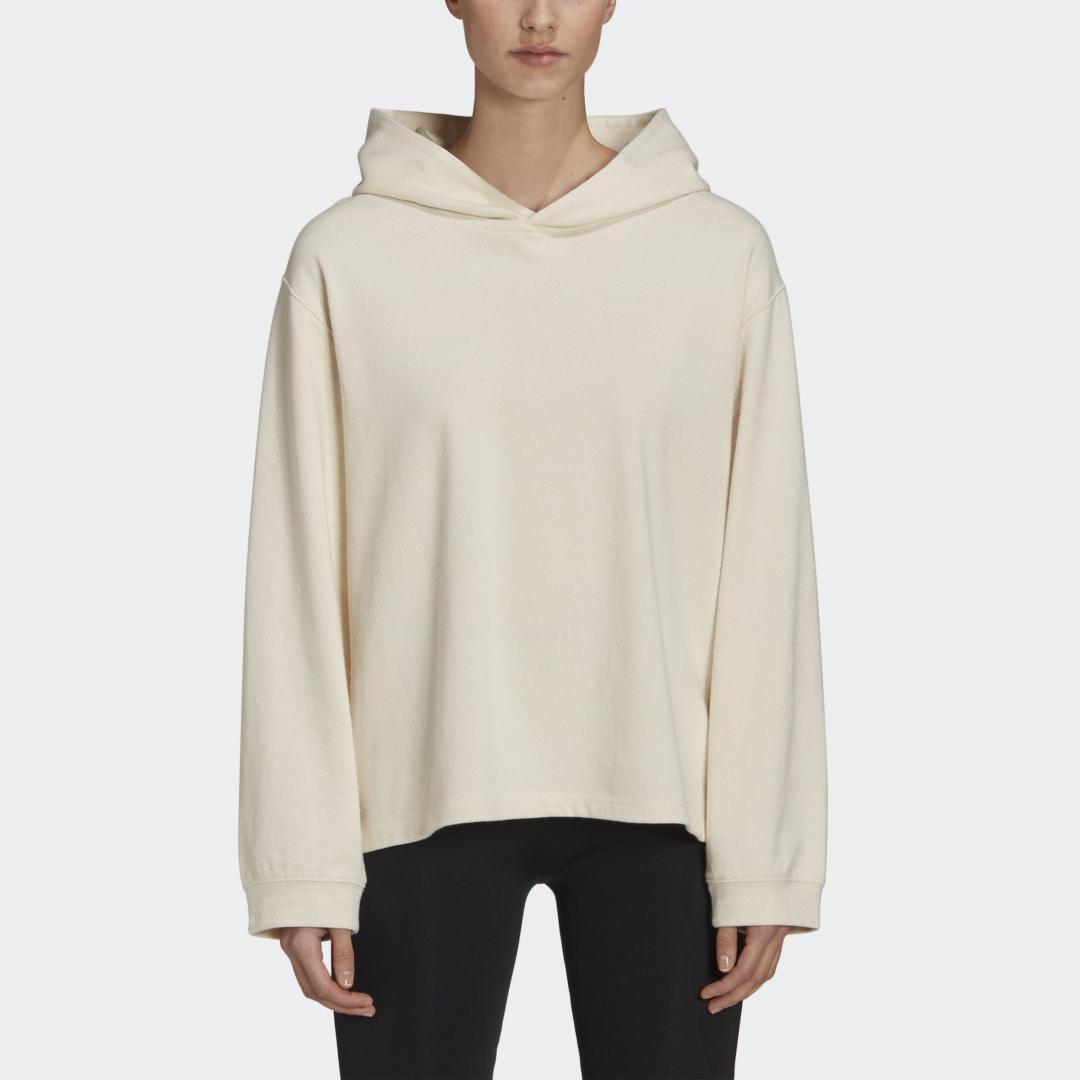 Y-3 CH3 Raw Terry Floral Hoodie Undyed