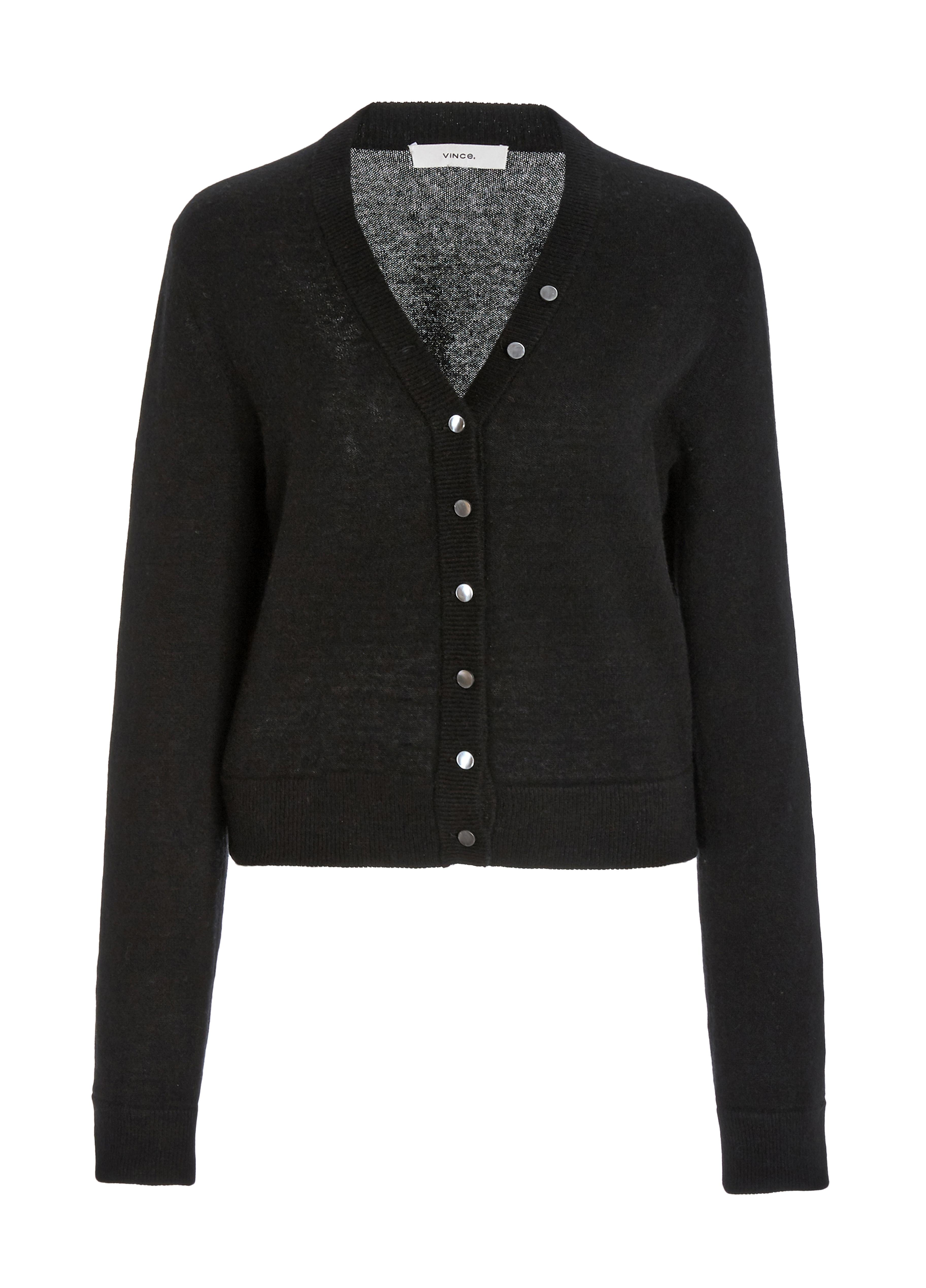 Cashmere Buttoned Cardigan 0