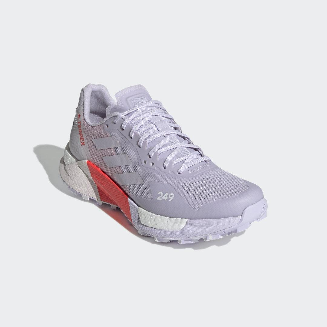 Terrex Agravic Ultra Trail Running Shoes Purple Tint