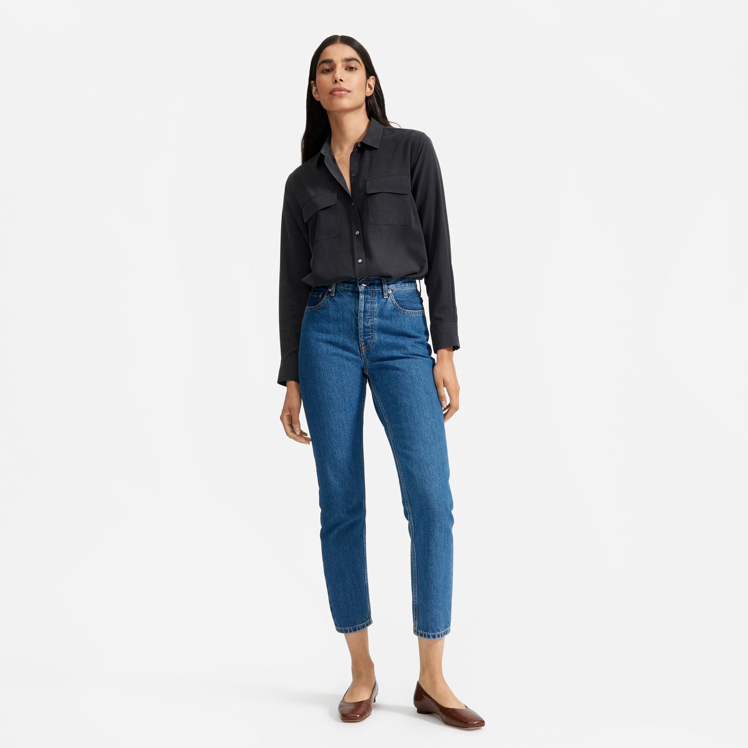The Washable Silk Relaxed Shirt  1