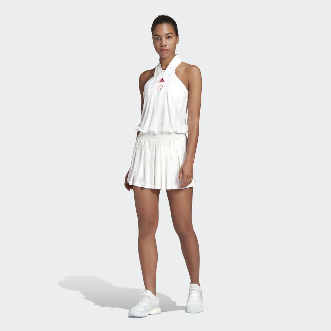 ALL-IN-ONE TENNIS DRESS White