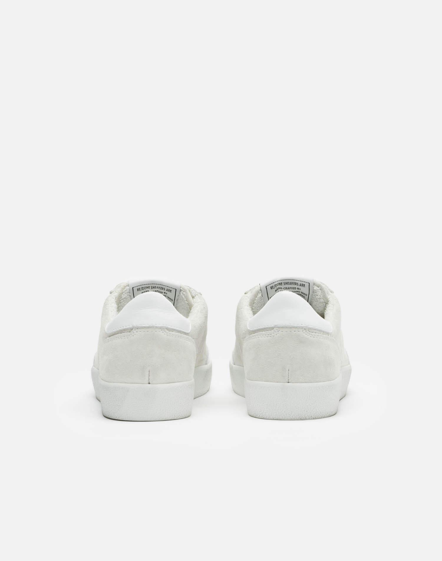 90s Skate Shoe - White Suede 3