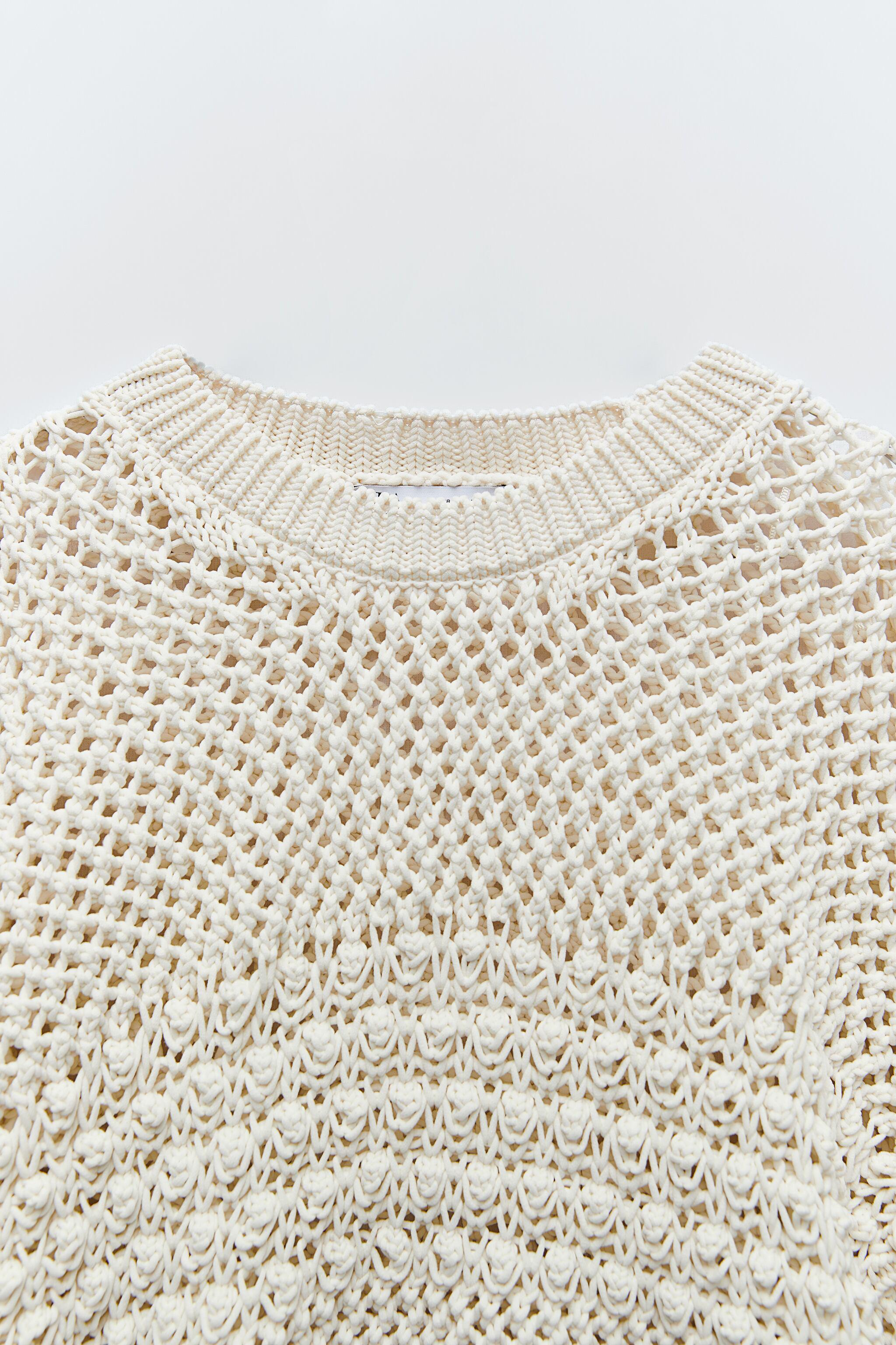 TEXTURED KNIT SWEATER 5