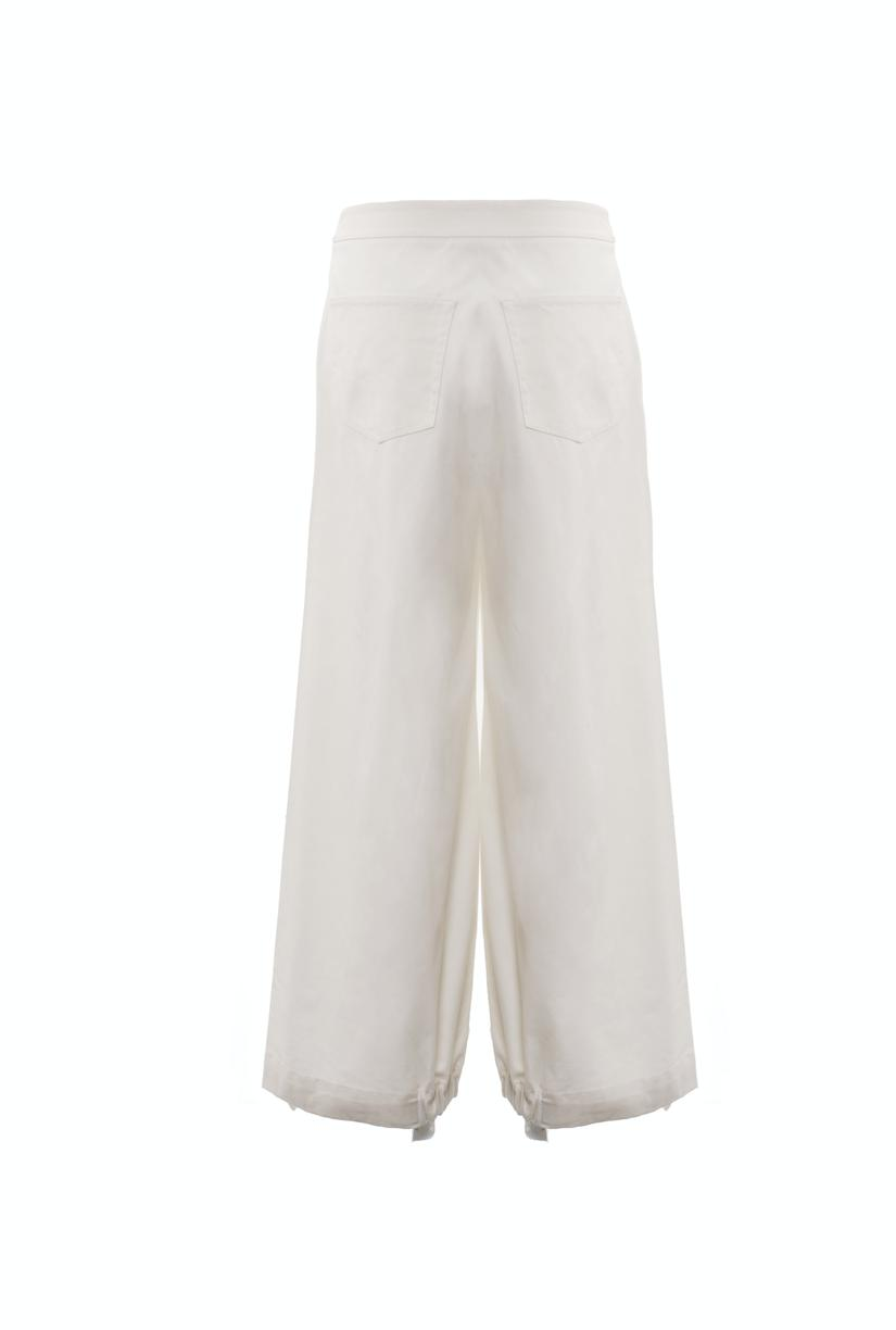 Drawcord Trousers (Ivory) 5