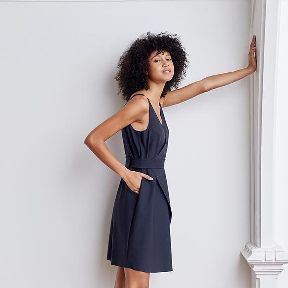 Over In One Wrap Dress