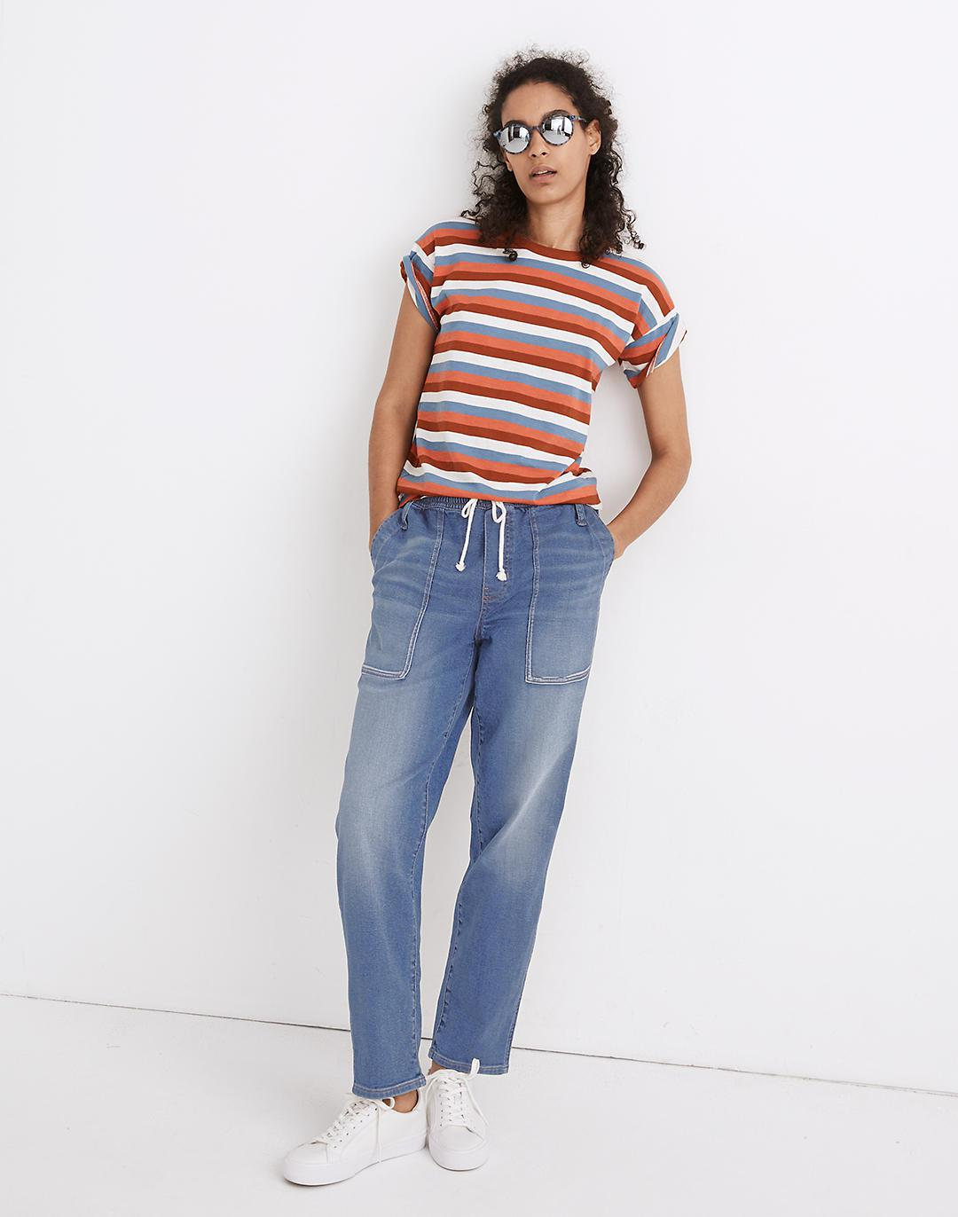 Pull-On Relaxed Jeans