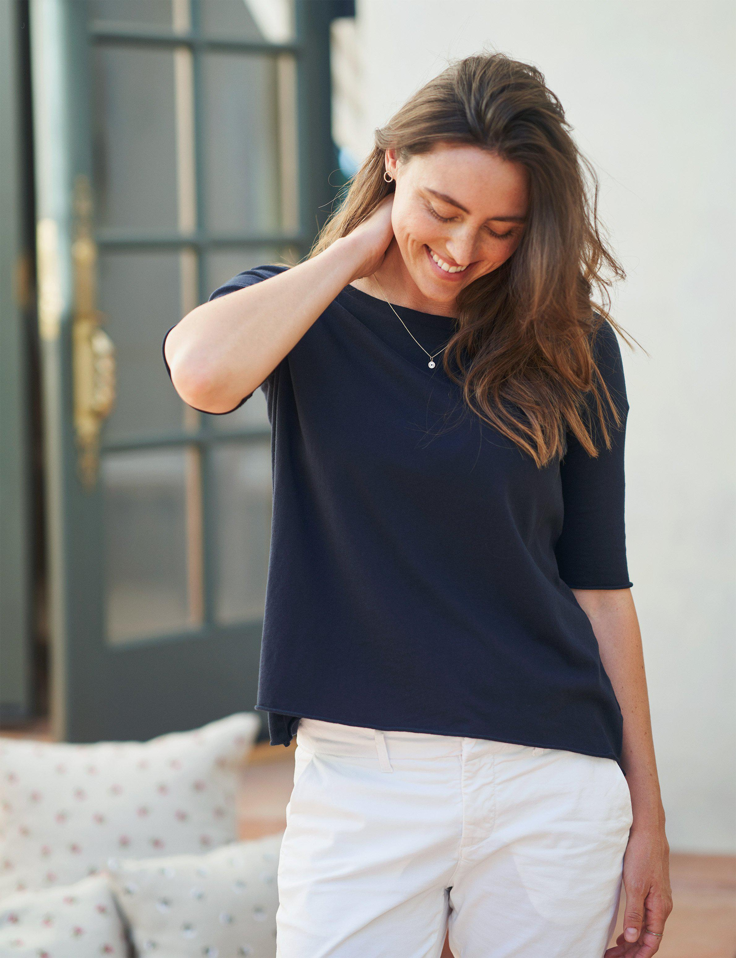 FRENCH TEE Luxe Jersey