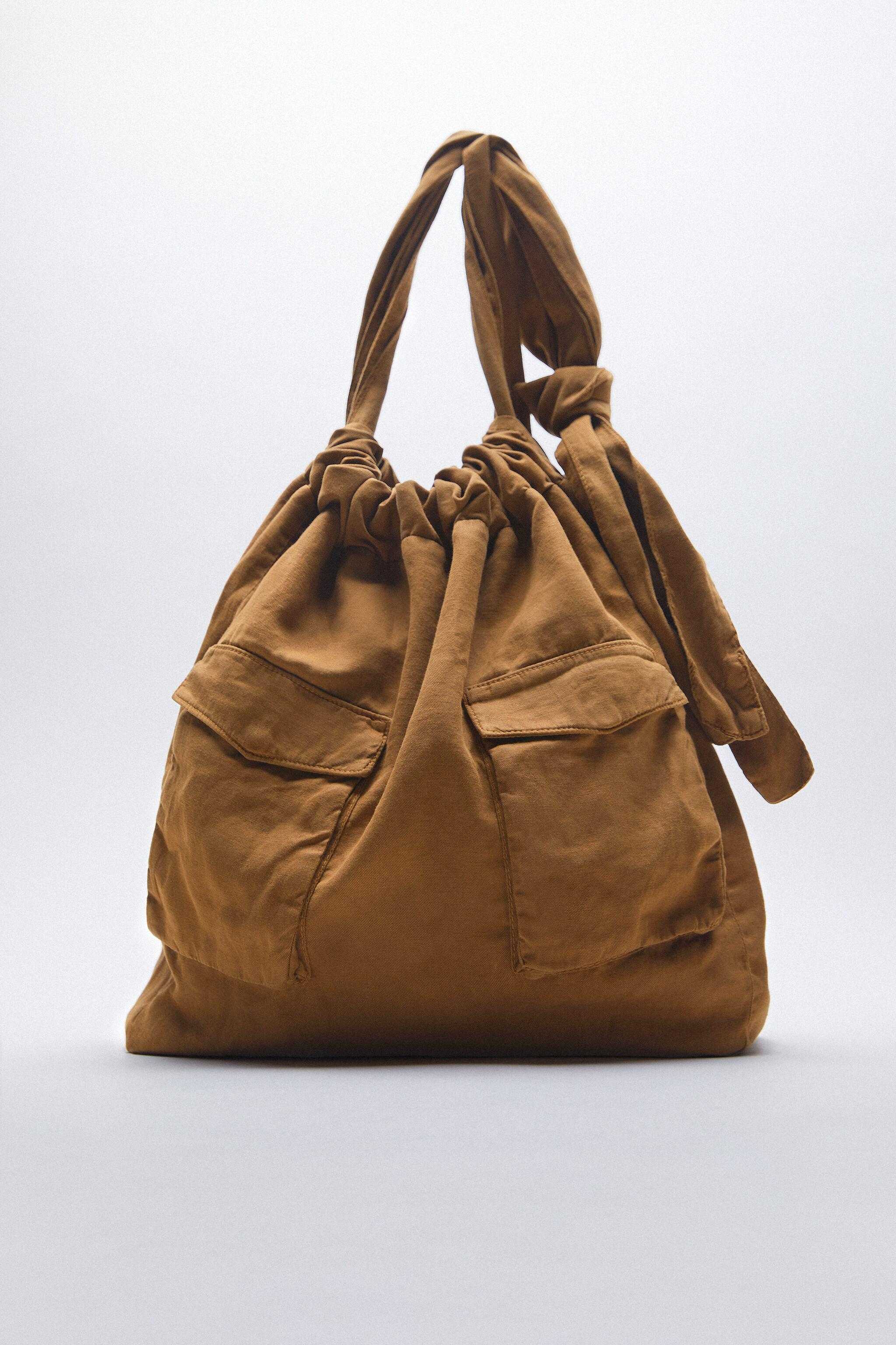 TOTE BAG WITH FRONT POCKETS 0