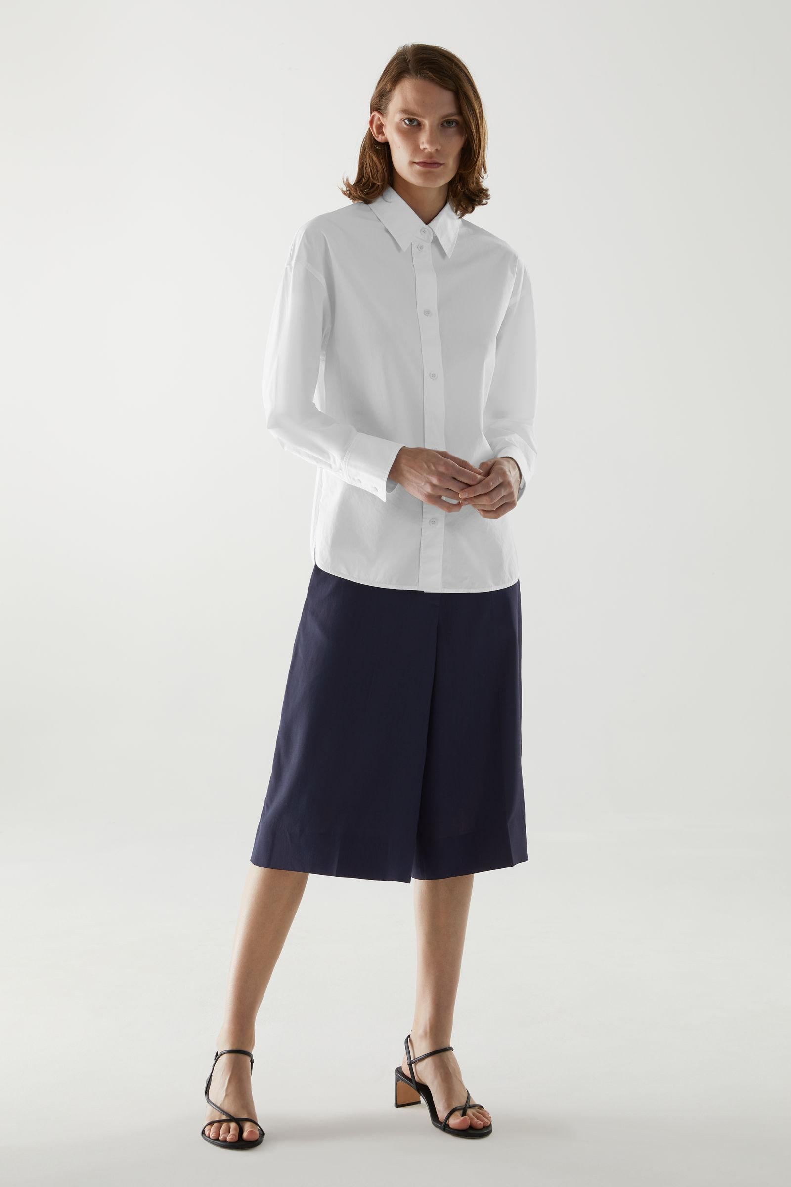 ORGANIC COTTON FITTED SHIRT 1