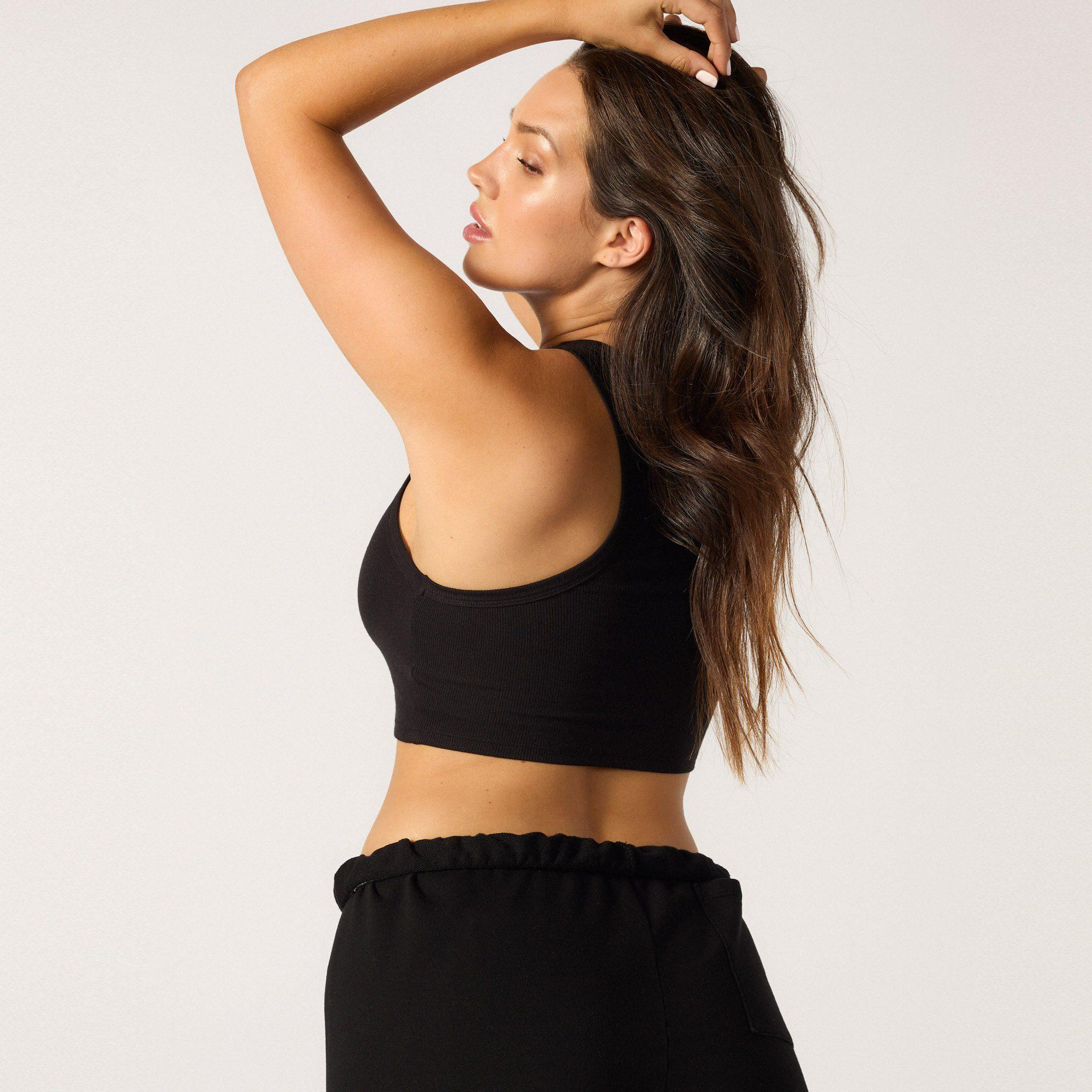 The Live-in Cropped Rib Tank 14