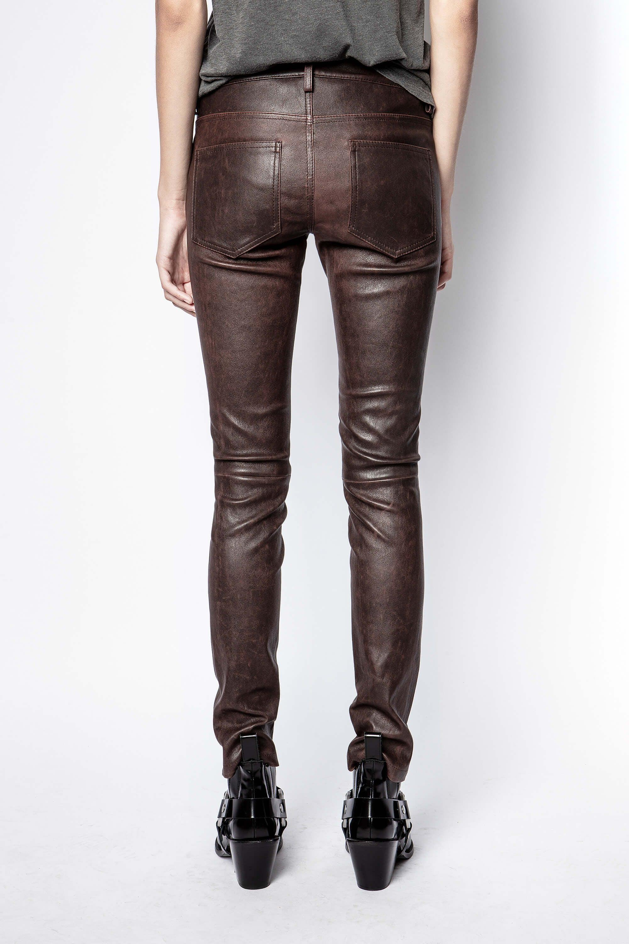 Phlame Leather Used Pants 2