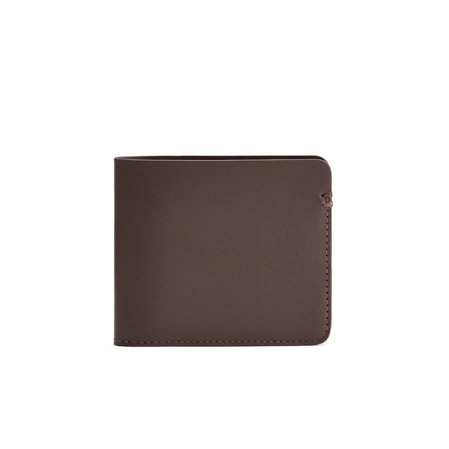 Women's Leather Folding Wallet in Dark Brown | Smooth Leather by Cuyana